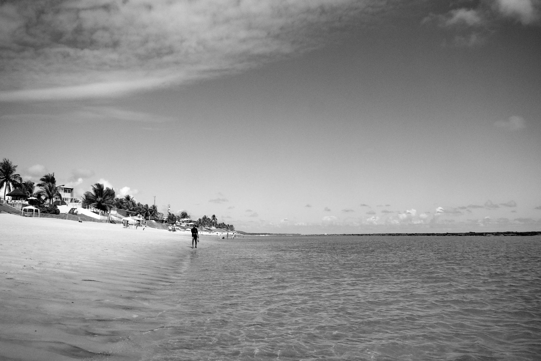 Praia da Barra de São Miguel by Fred Matos