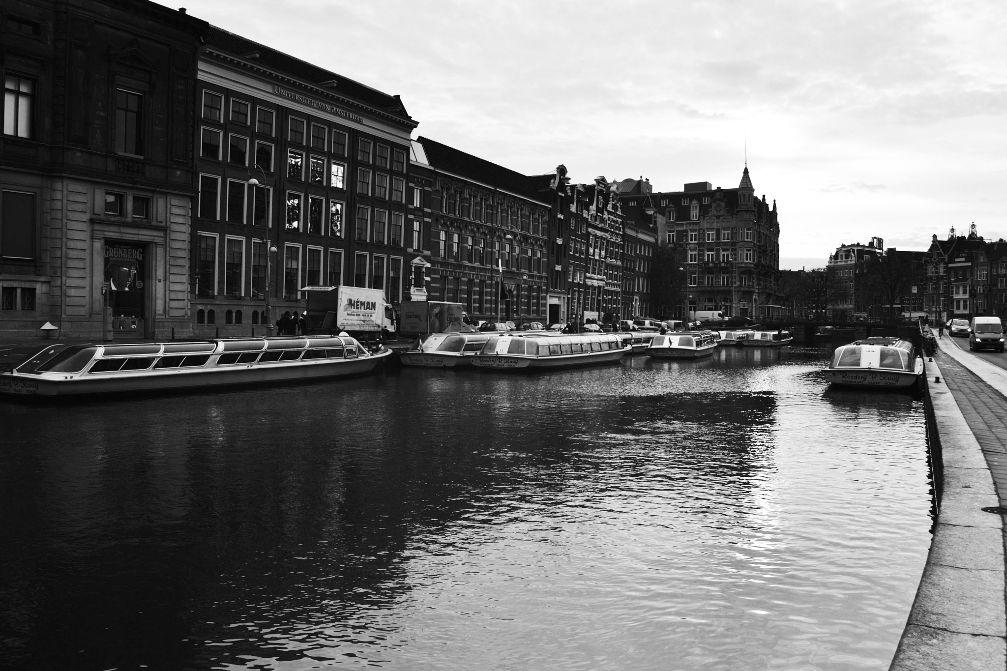 Amsterdam in black and white by Fred Matos