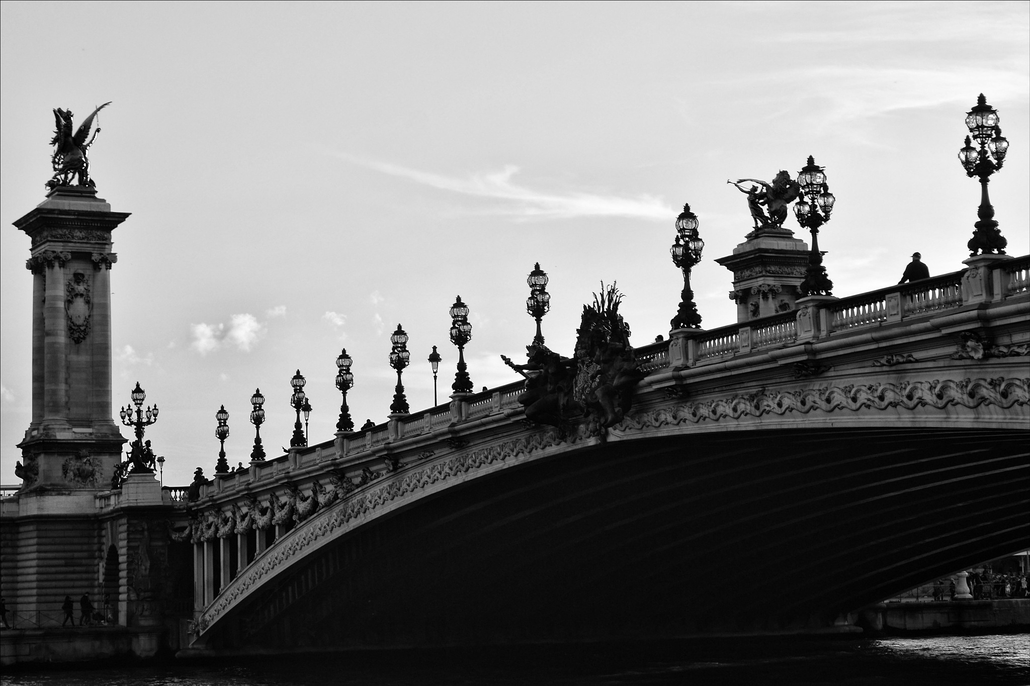 Pont Alexandre III by Fred Matos