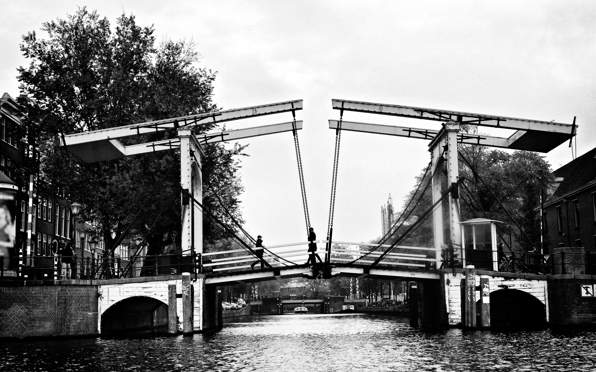 Magere Brug - b&w version by Fred Matos