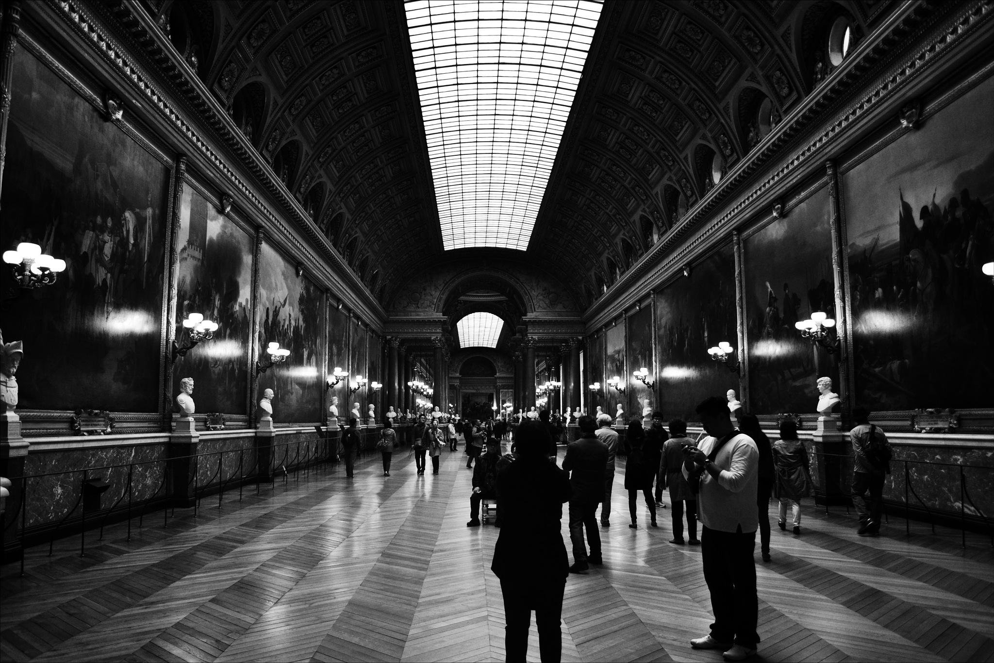 Salão de exposição do Château de Versailles by Fred Matos