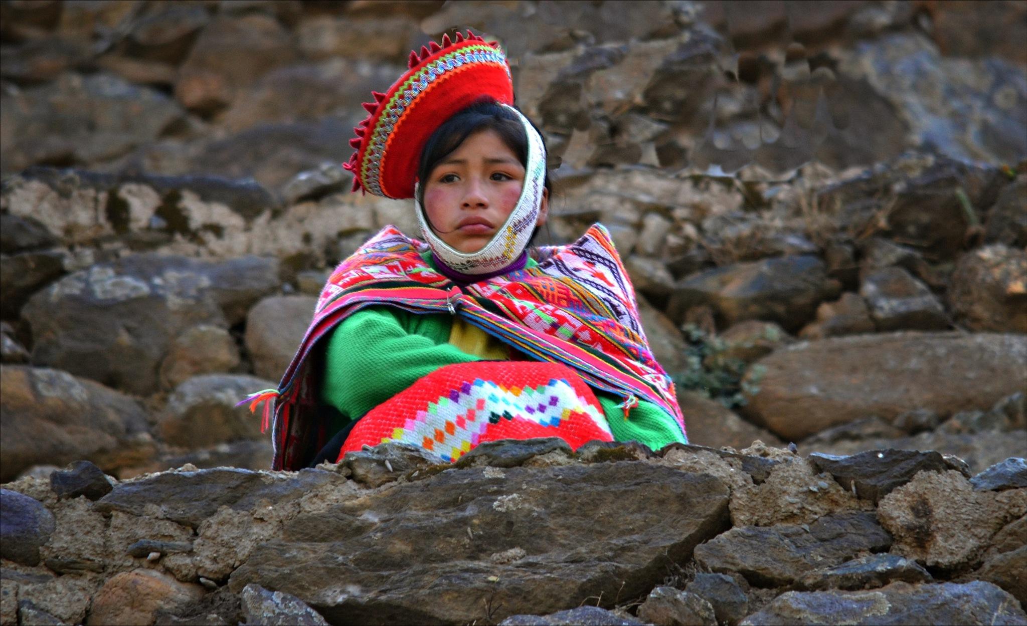 a peruvian girl by Fred Matos