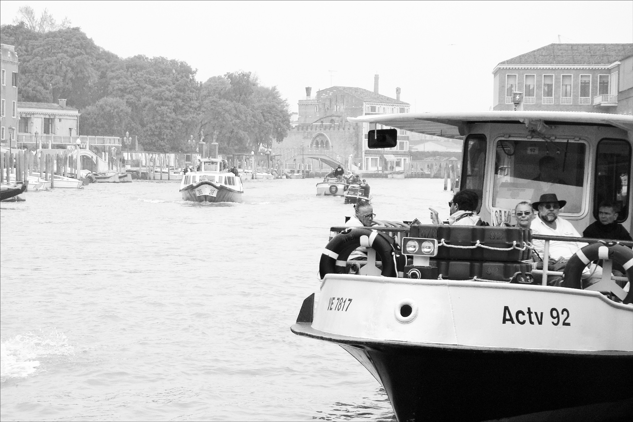 Venice in black and white by Fred Matos