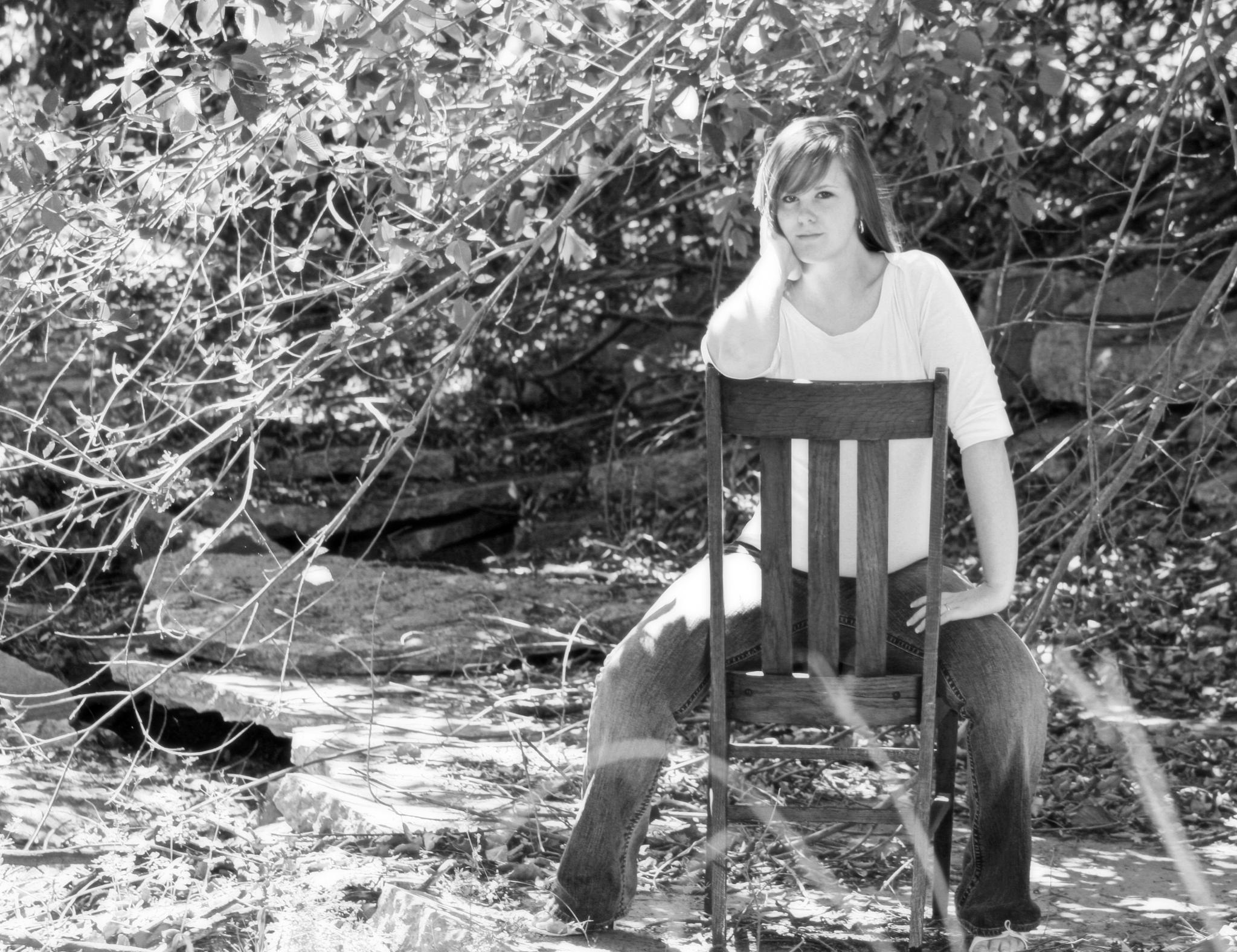 Thinkin' Chair by Michelle Davis Photography