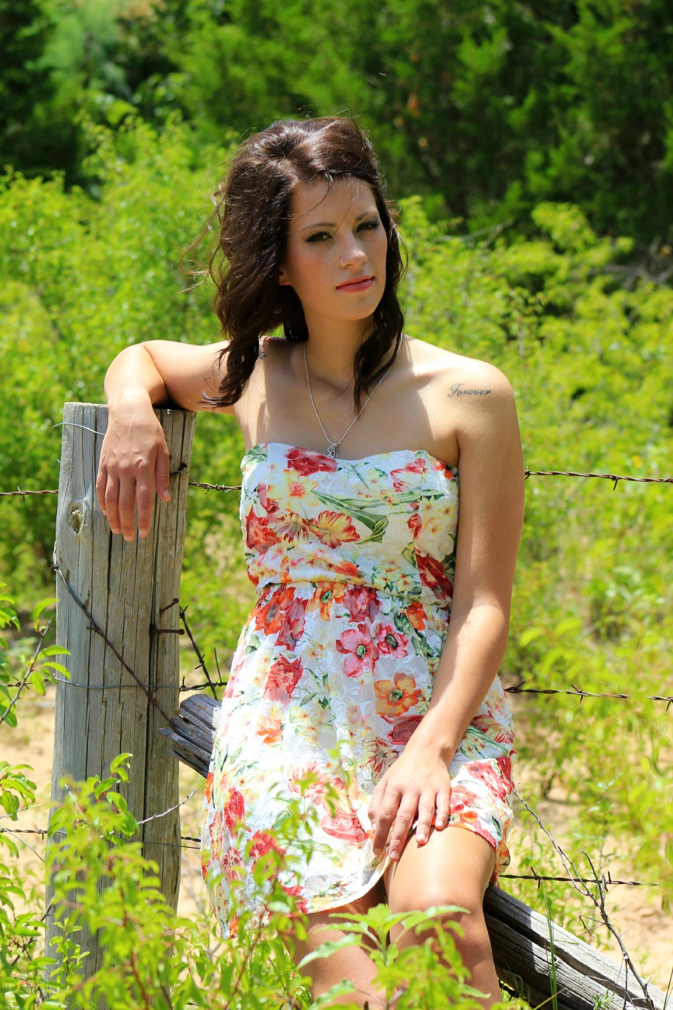 Sittin' On the Fence by Michelle Davis Photography
