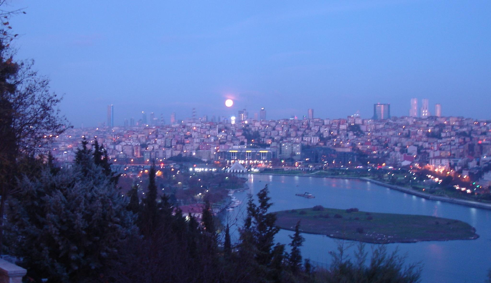 Full Moon by Saygın Saner