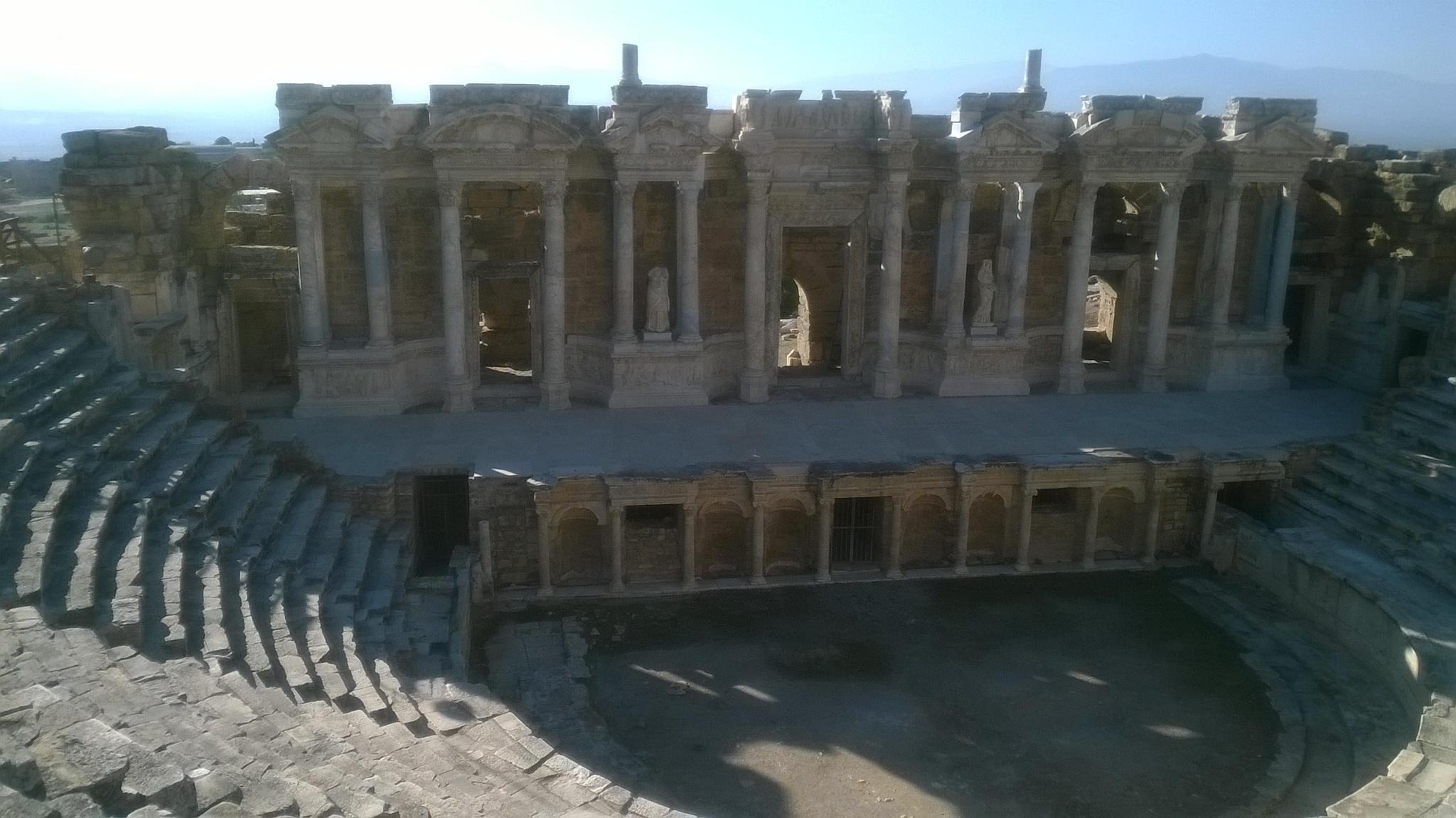 Hierapolis by Saygın Saner
