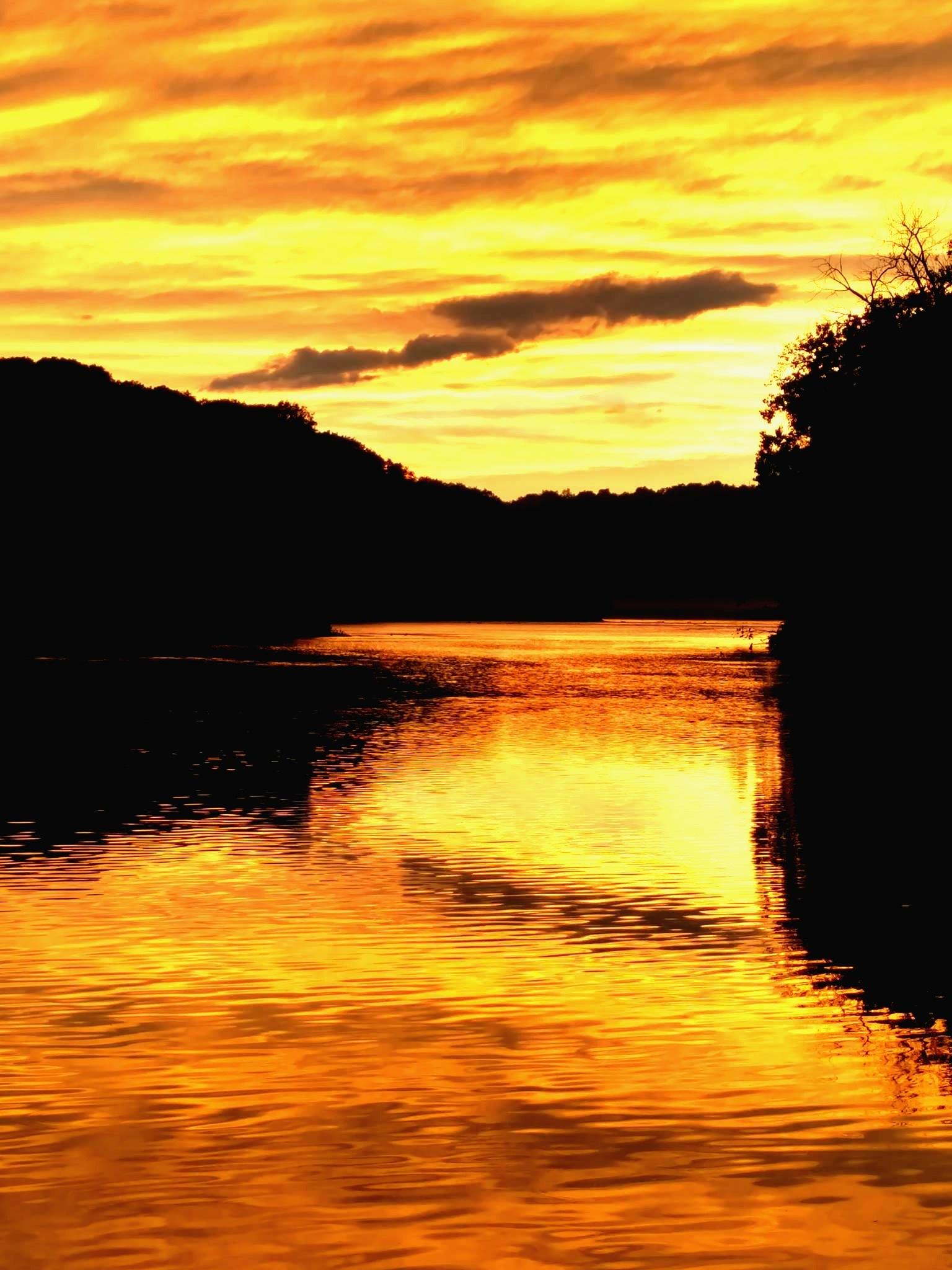 Sunset in Ft Edward by ccbarron1