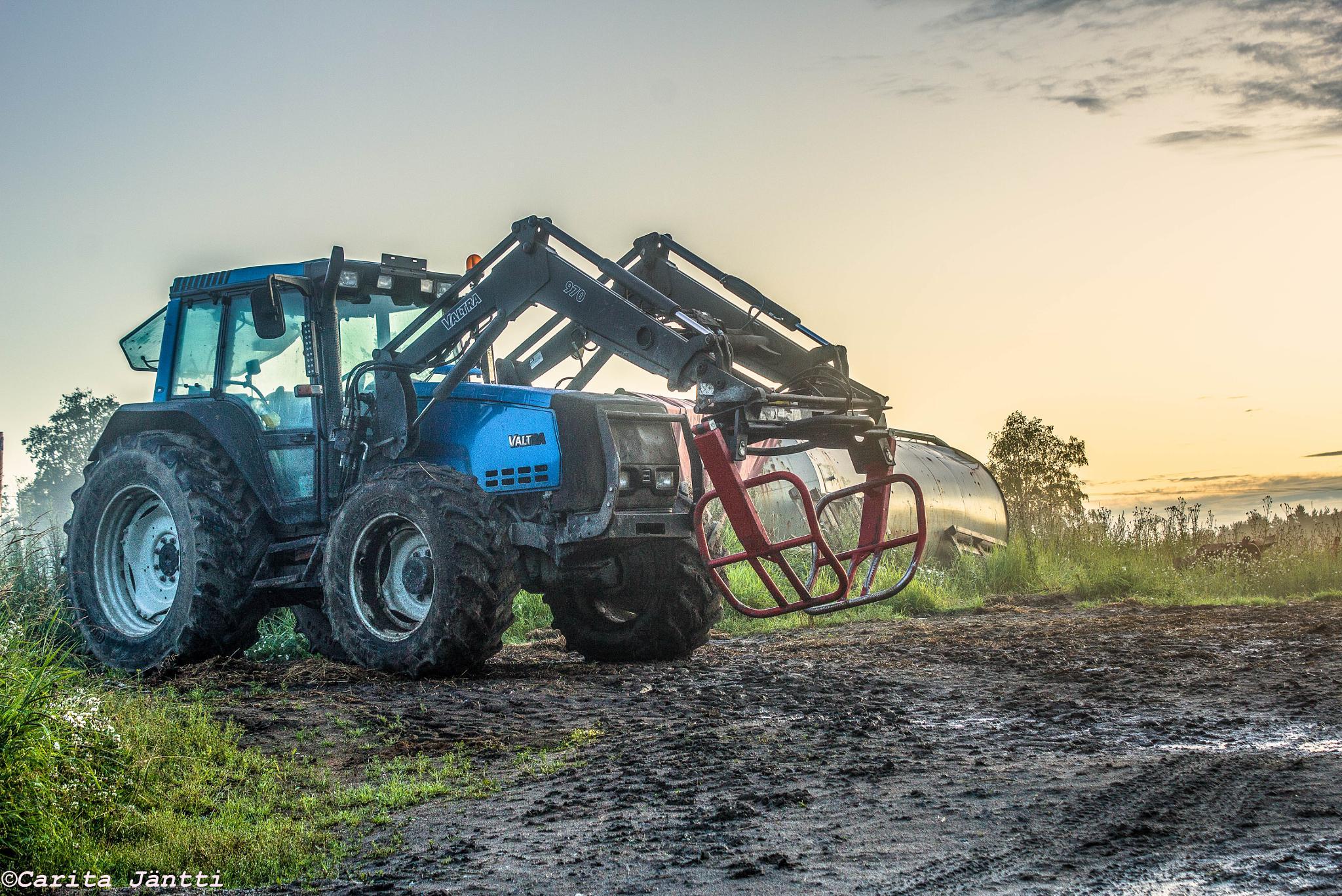 Tractor by Carita Jäntti