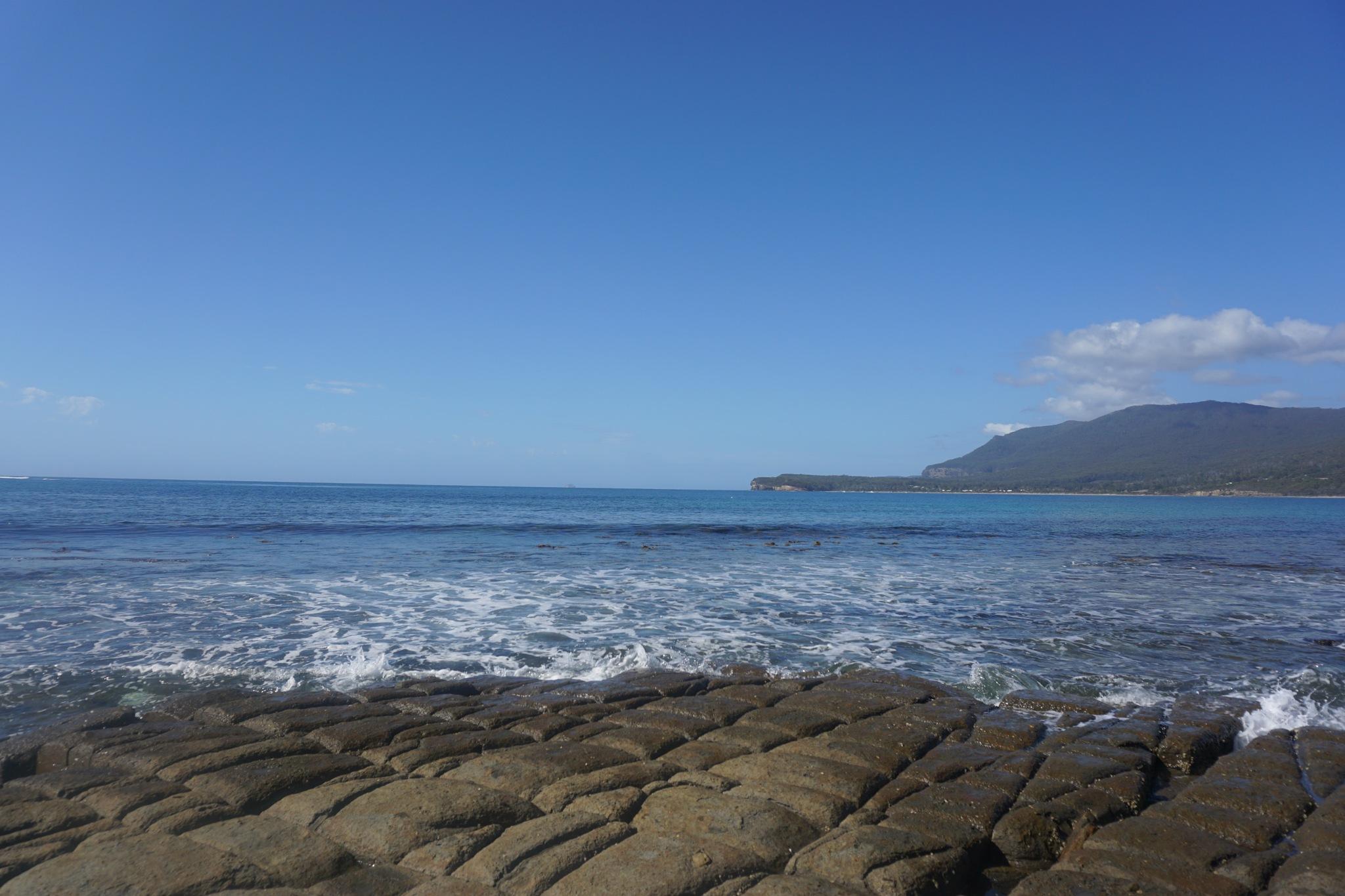 Tessellated Beach by hairnotesbydana