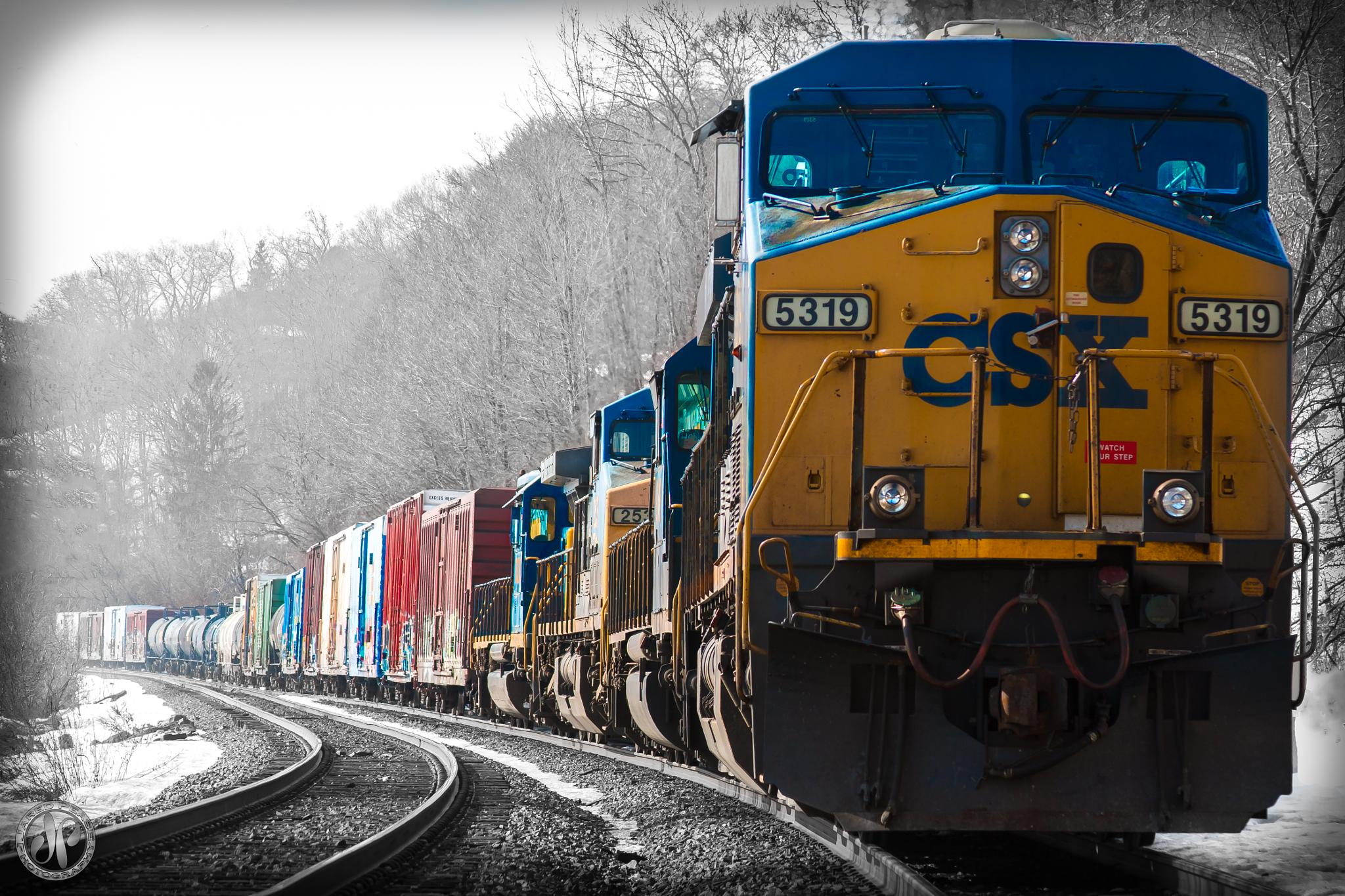 Freight in Wait by Jared Pease