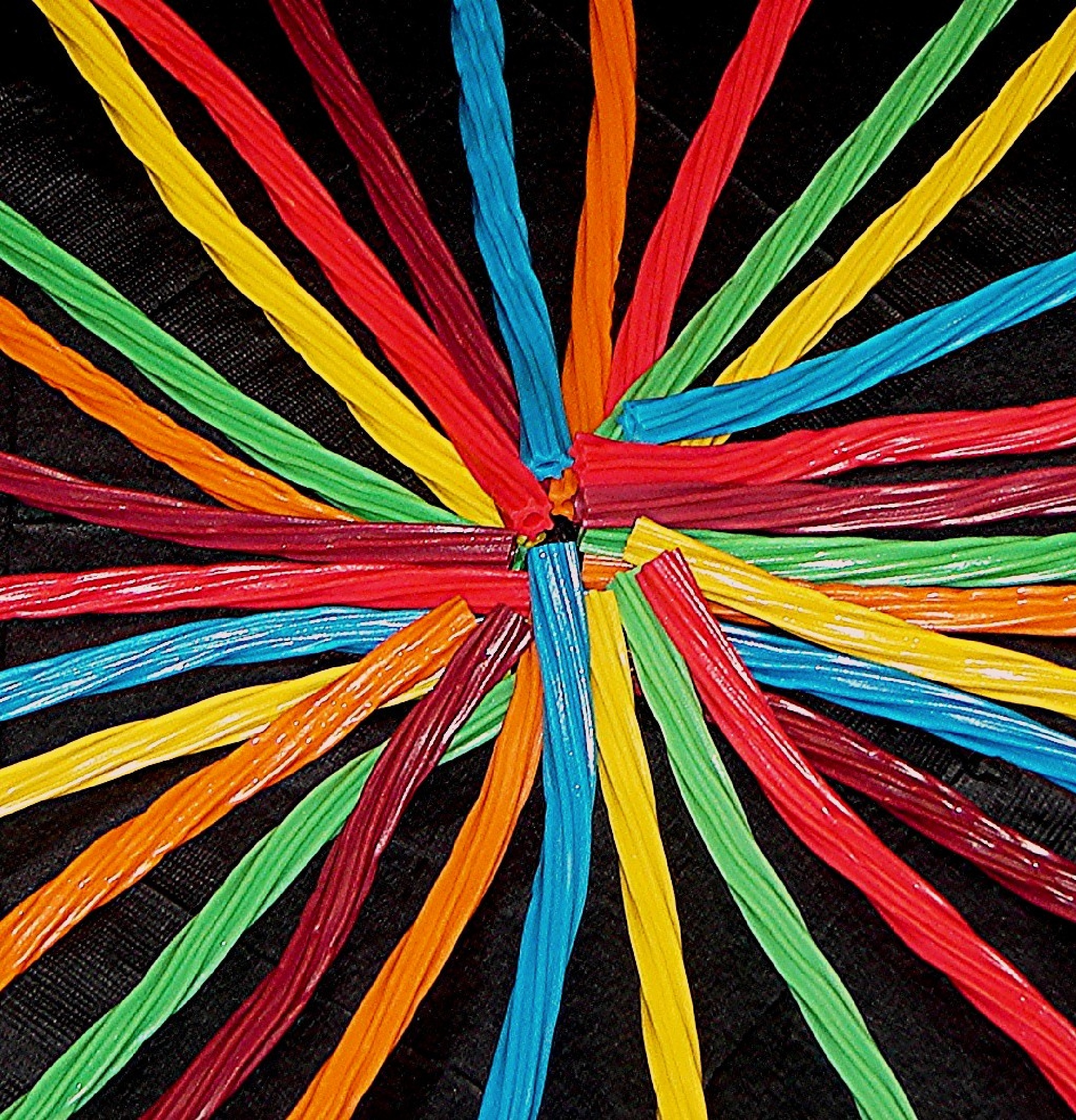 Multi- color licorice by idalif
