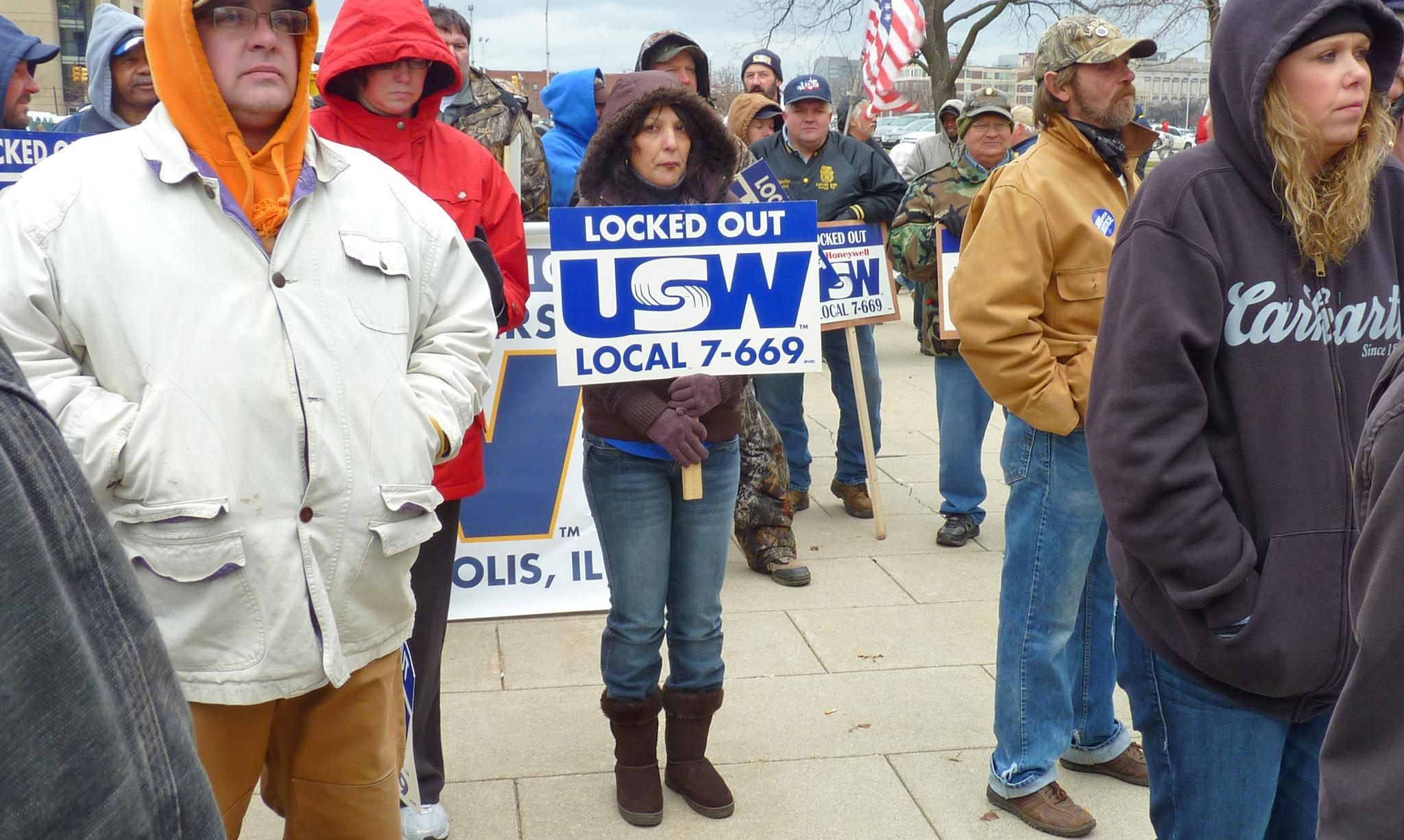 Union Rally at the Indiana Statehouse - Addendum by jeanne.winstead