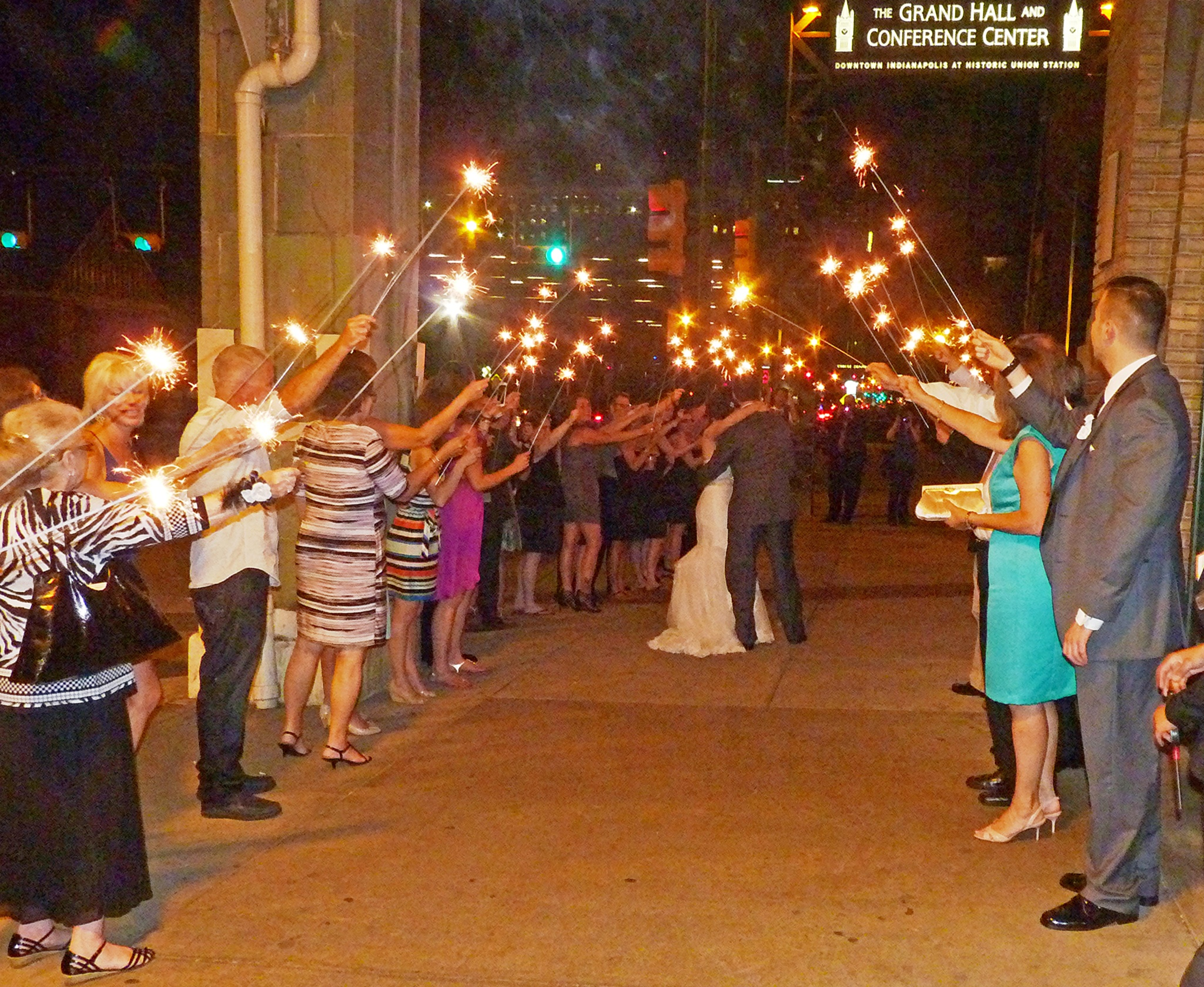 Grand Send-Off for the Bride and Groom by jeanne.winstead