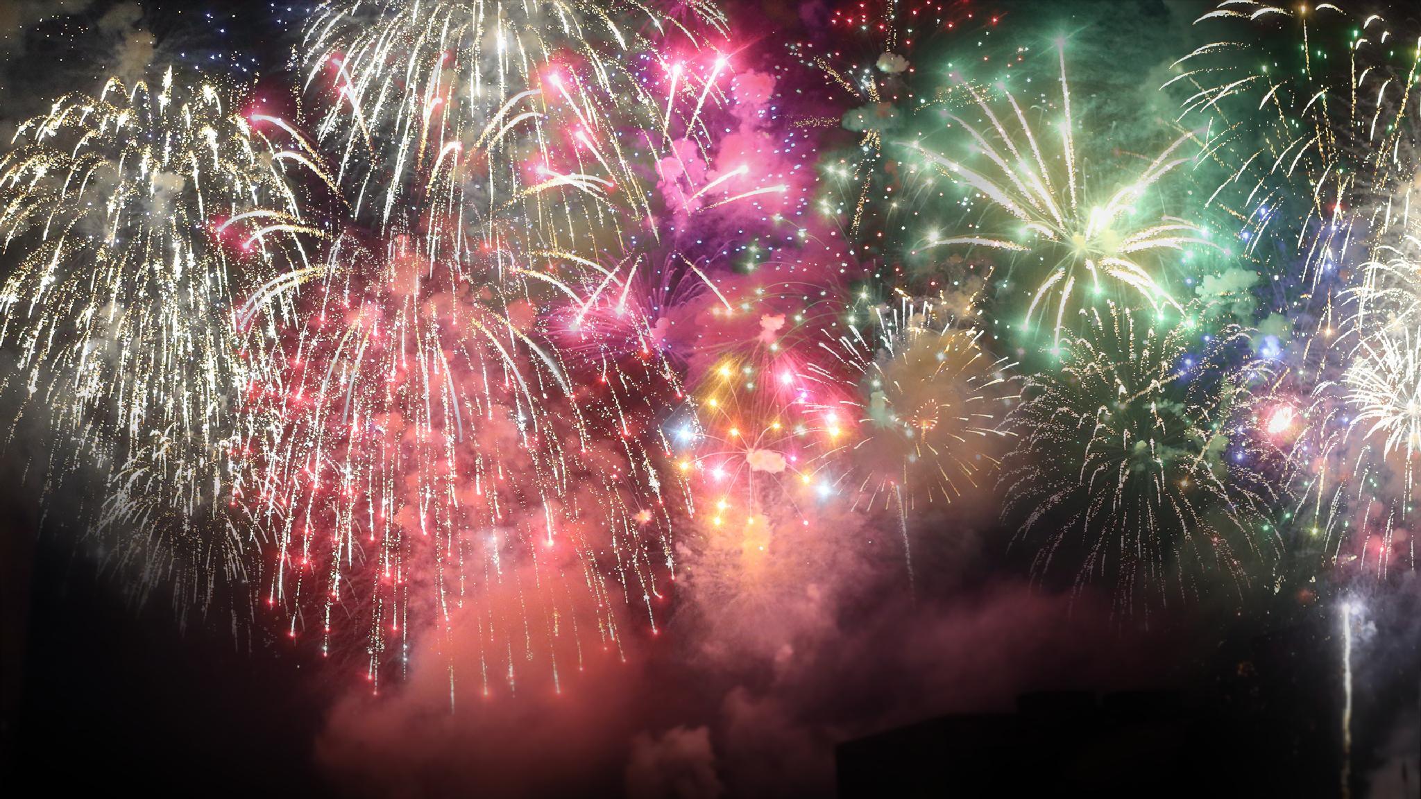 Fireworks by m.urbanski
