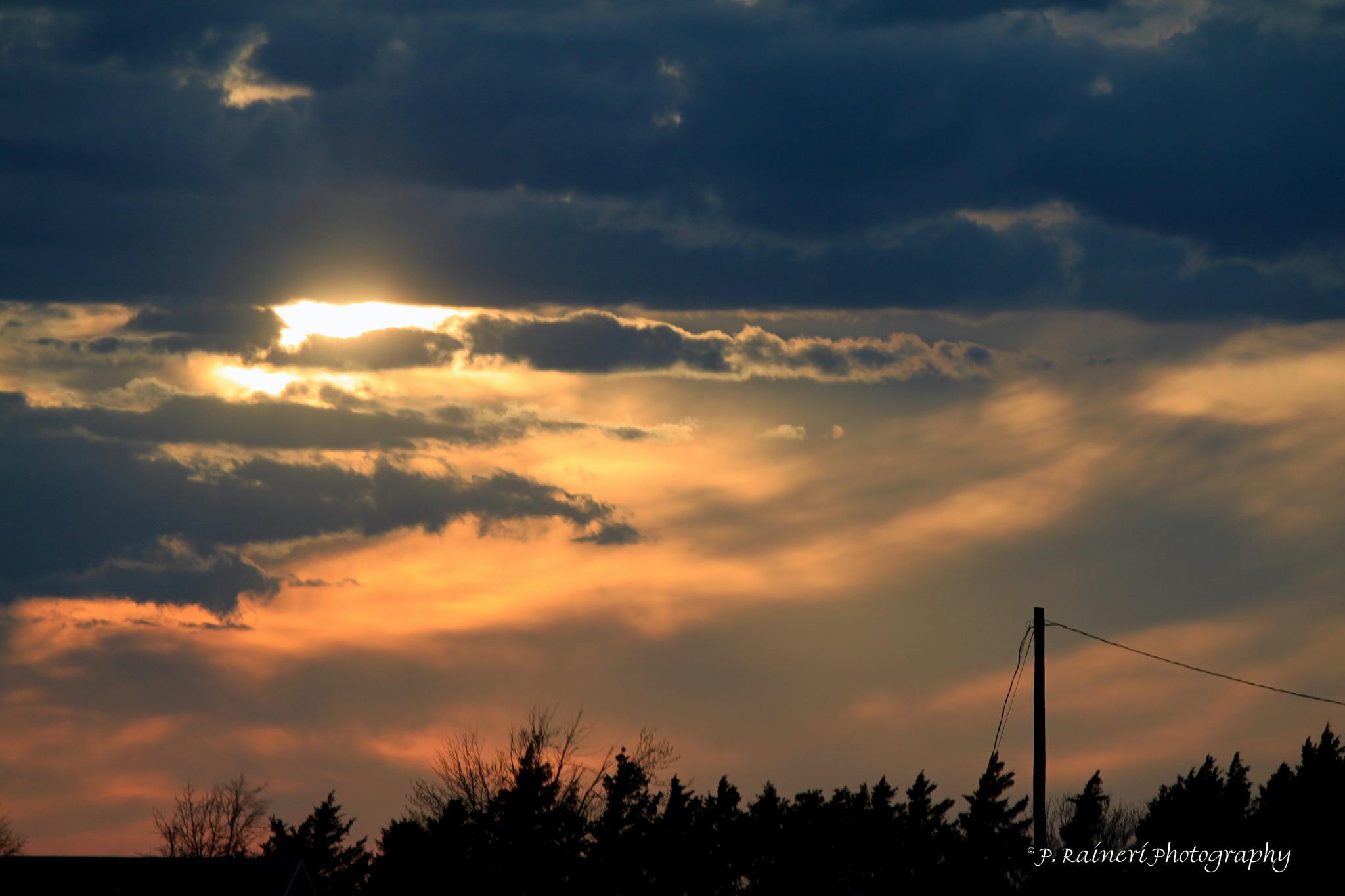 Sunset & Clouds by pamela.raineri.1