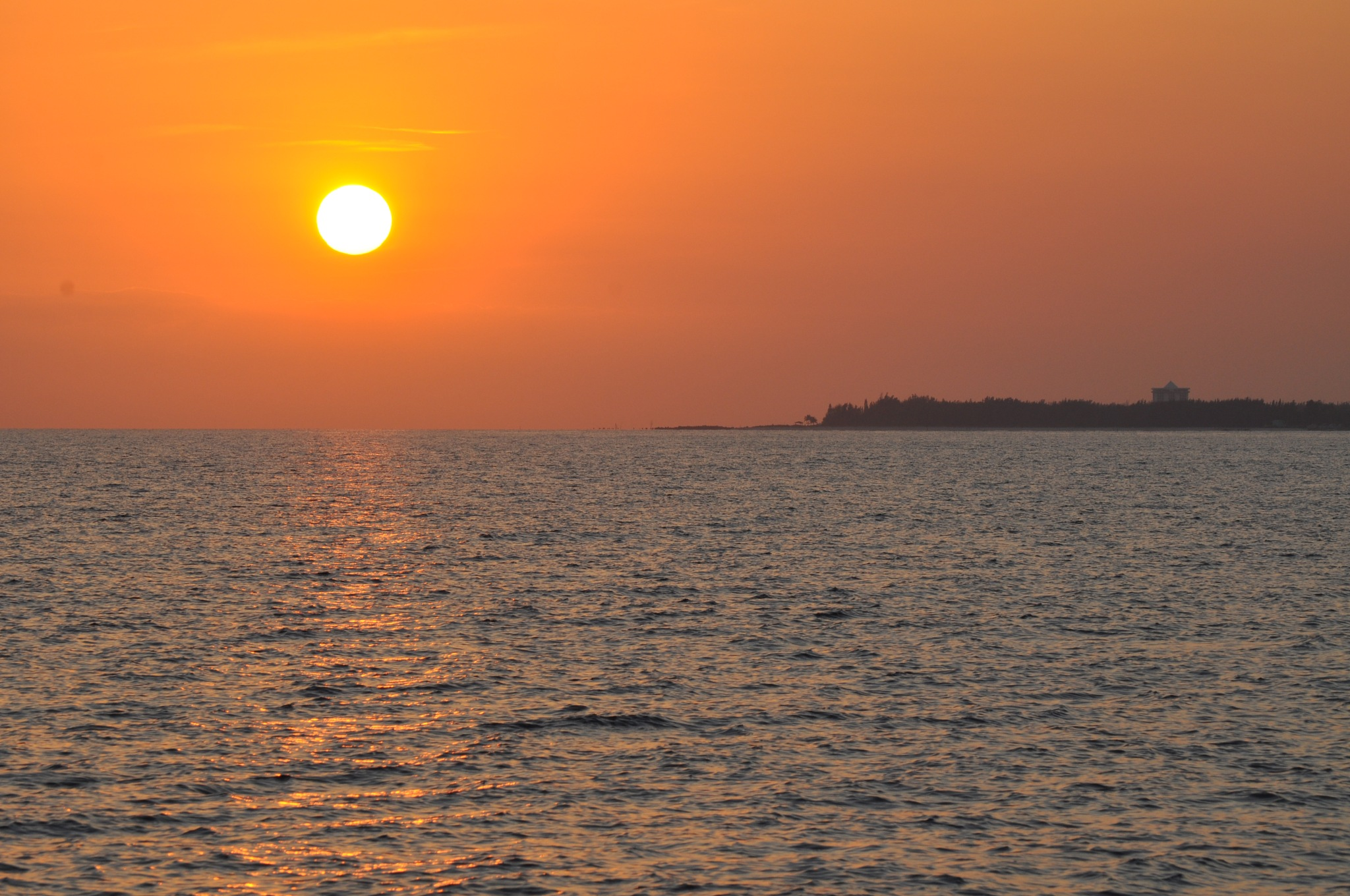 Sunset Over The Bahamas by peggy.hunt.378