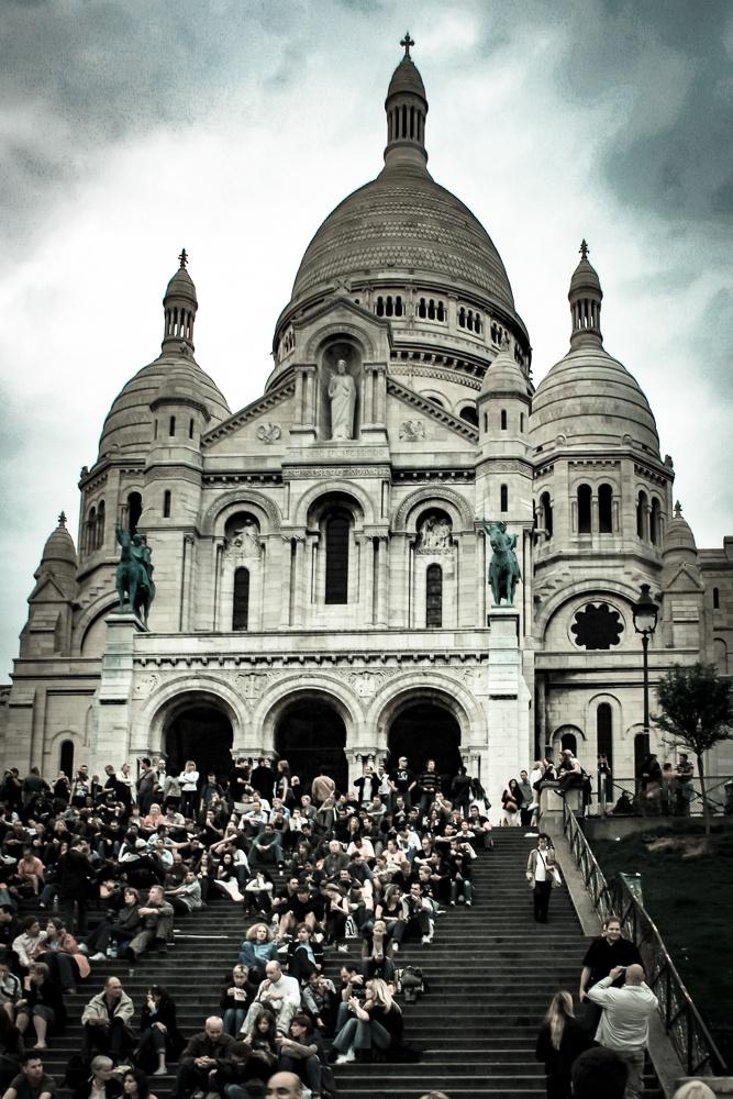 Sacre coeur by Robert