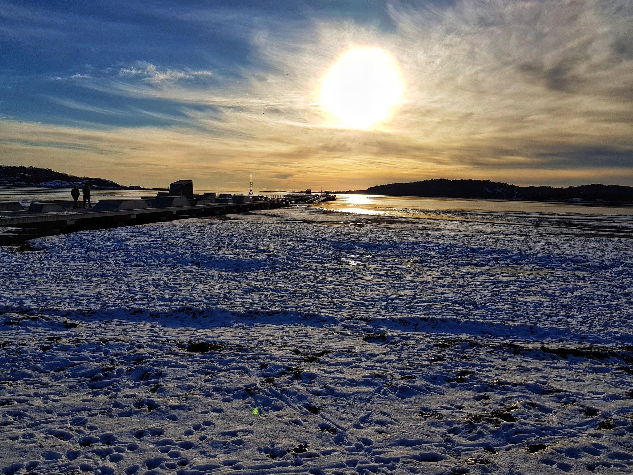 The pier by Helene Åvall