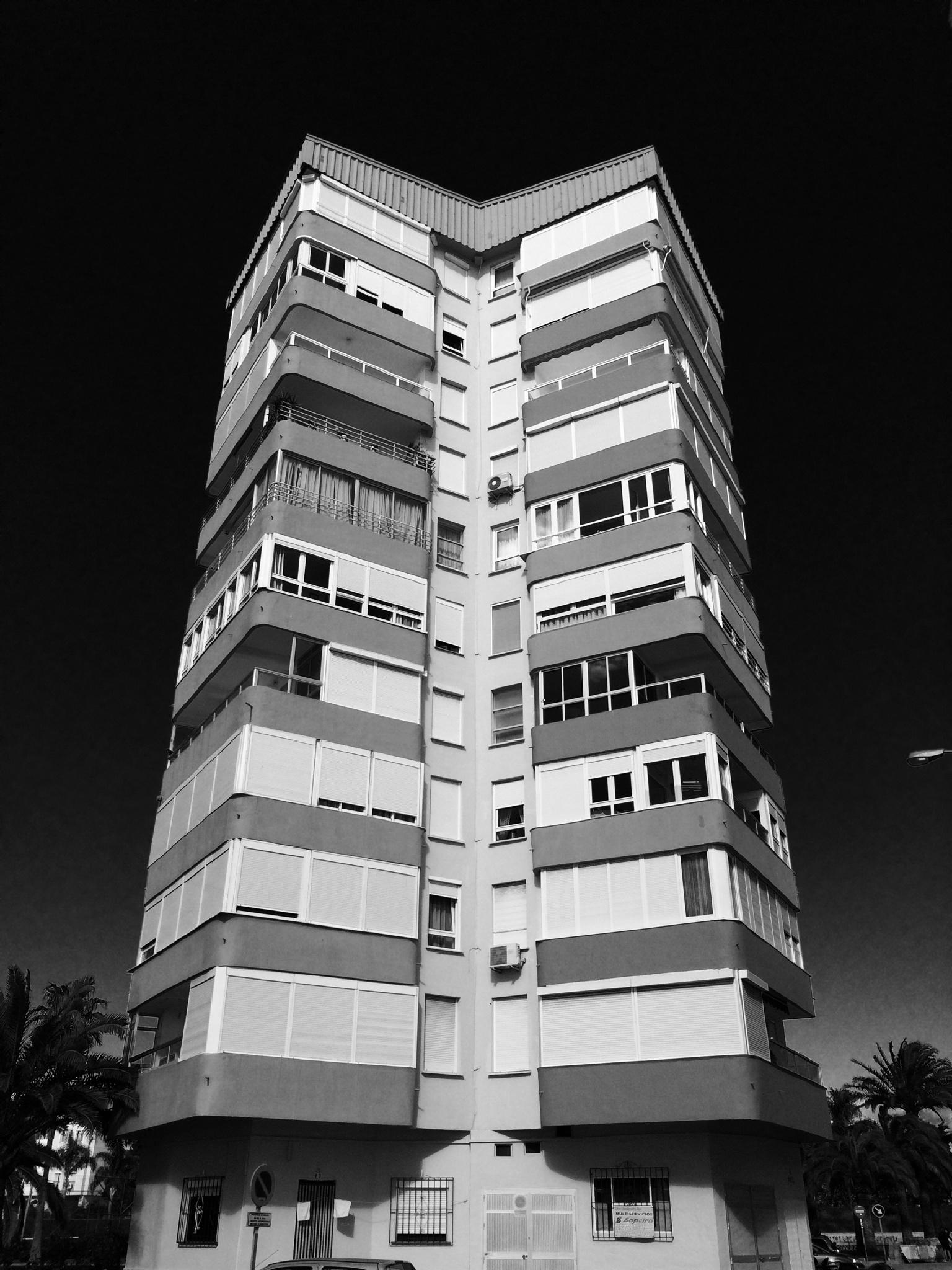 Tower block by Paul Edward Marshall