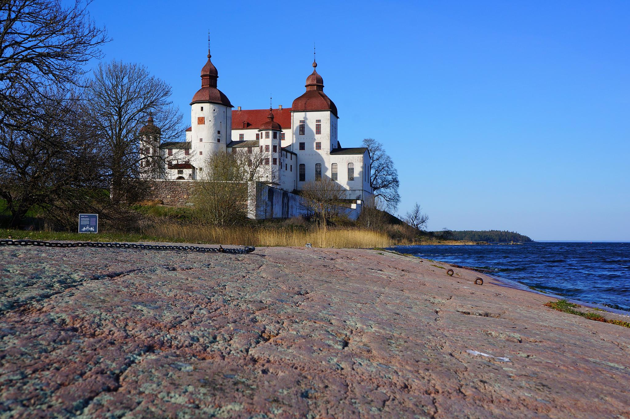 Rock and Castle by Bror Sandås