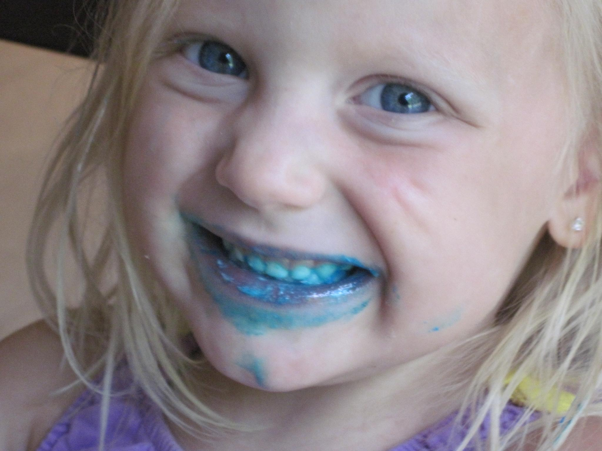 Sweet Little Girl Blue by Lisa Marshall Moore