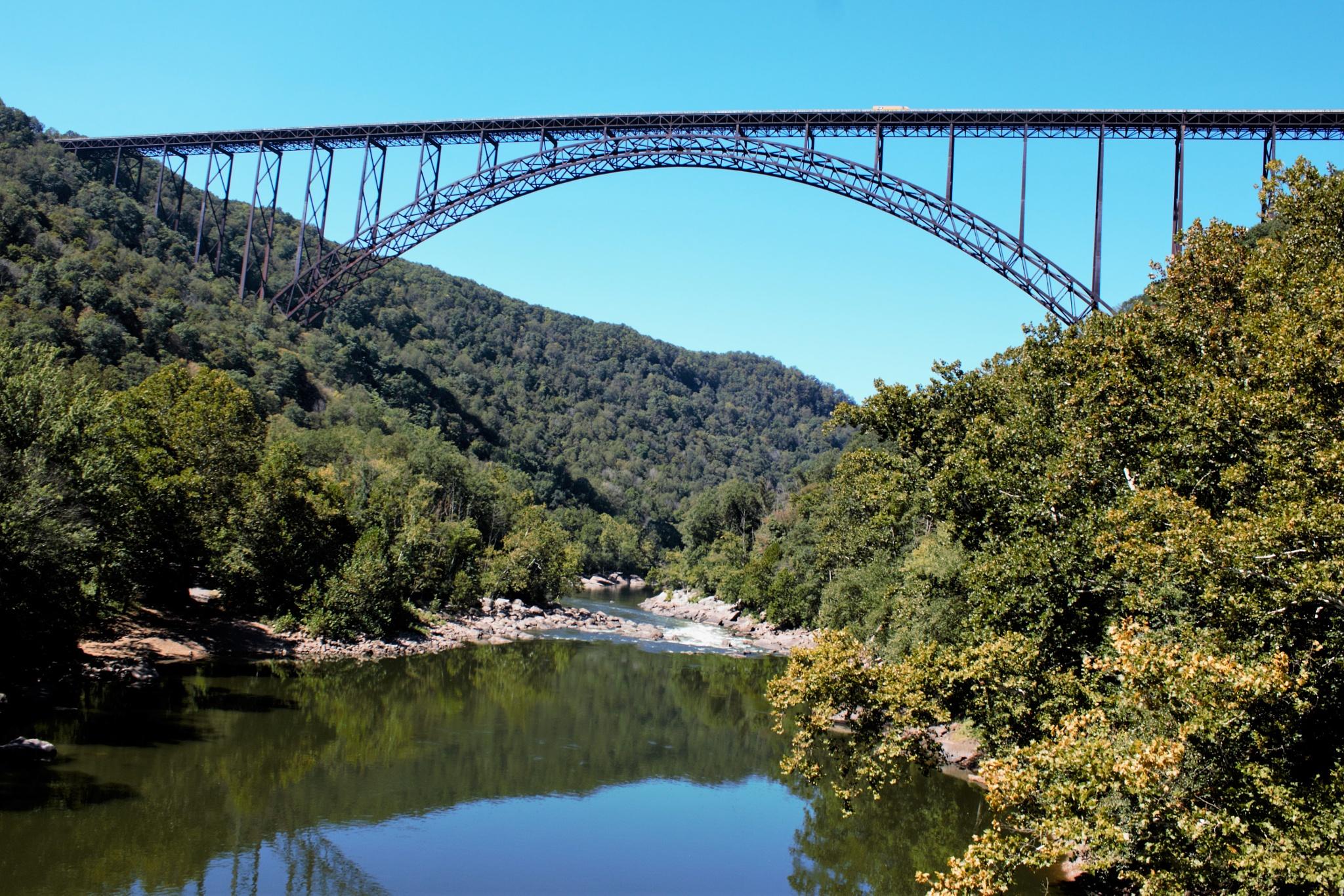 New River Gorge Bridge, West Virginia by Lisa Marshall Moore