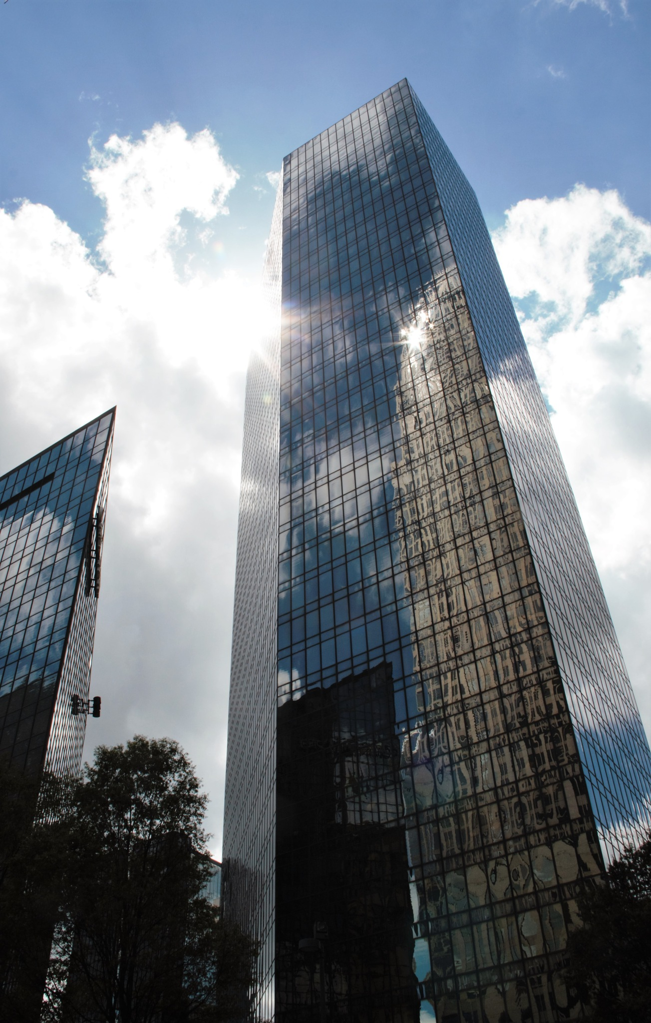 Skyscraper Reflections by Lisa Marshall Moore