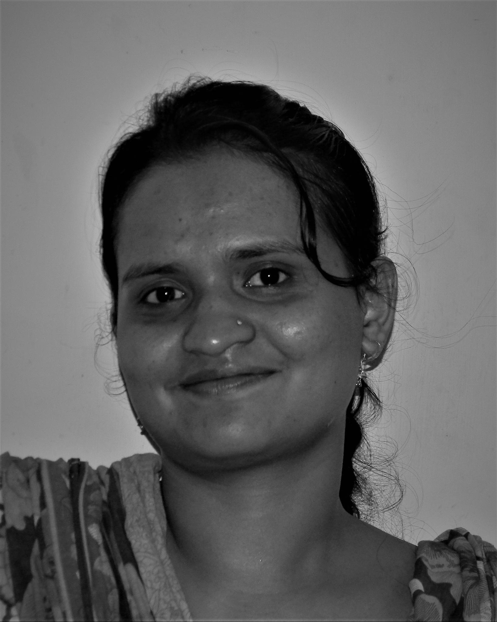 Happy girl in Bangladesh  by A.K.M. Ali hossain
