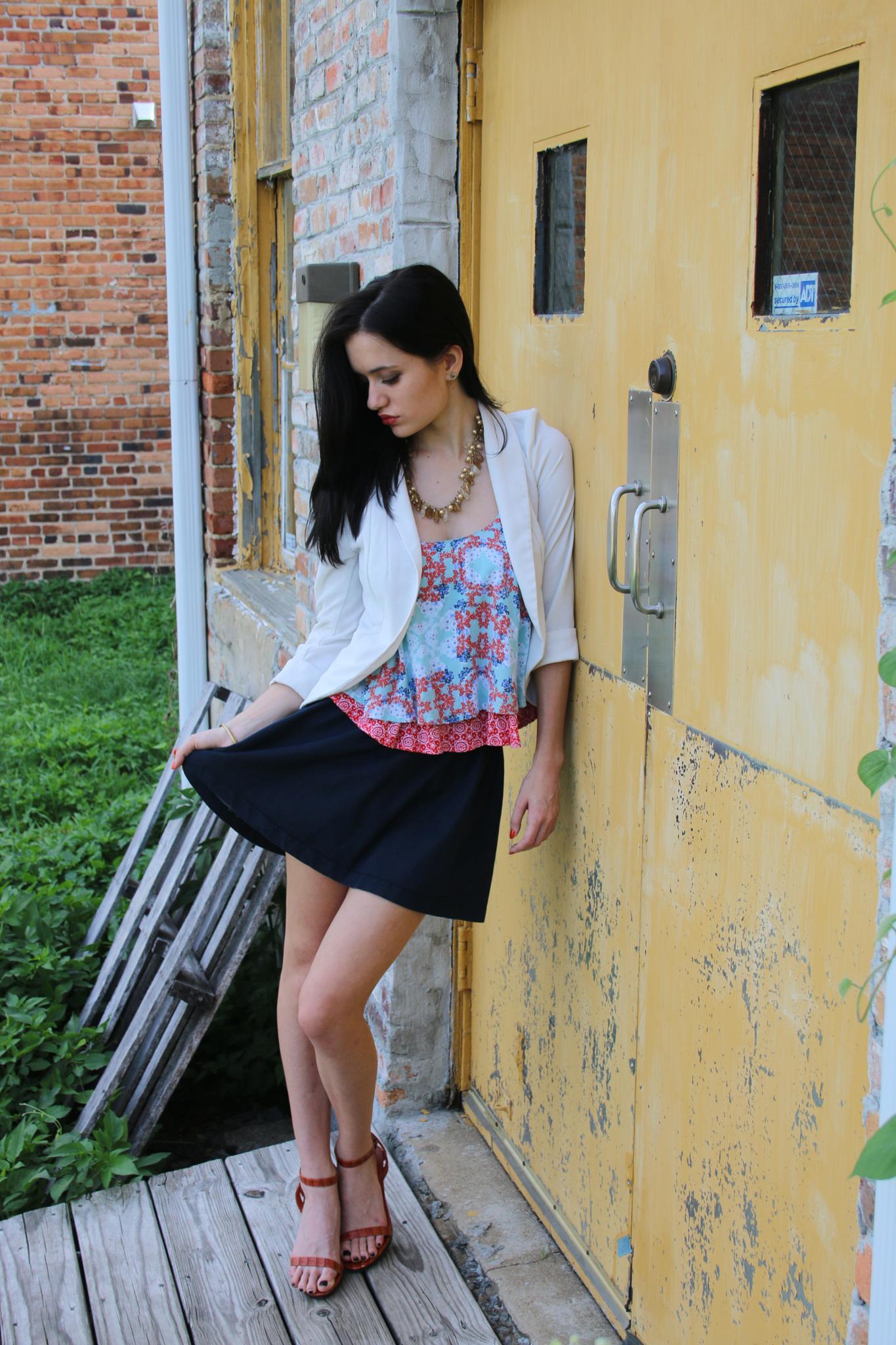 Photo in Fashion #fashion #beautiful #woman #brunette #portrait #ootd #styledbysteph96