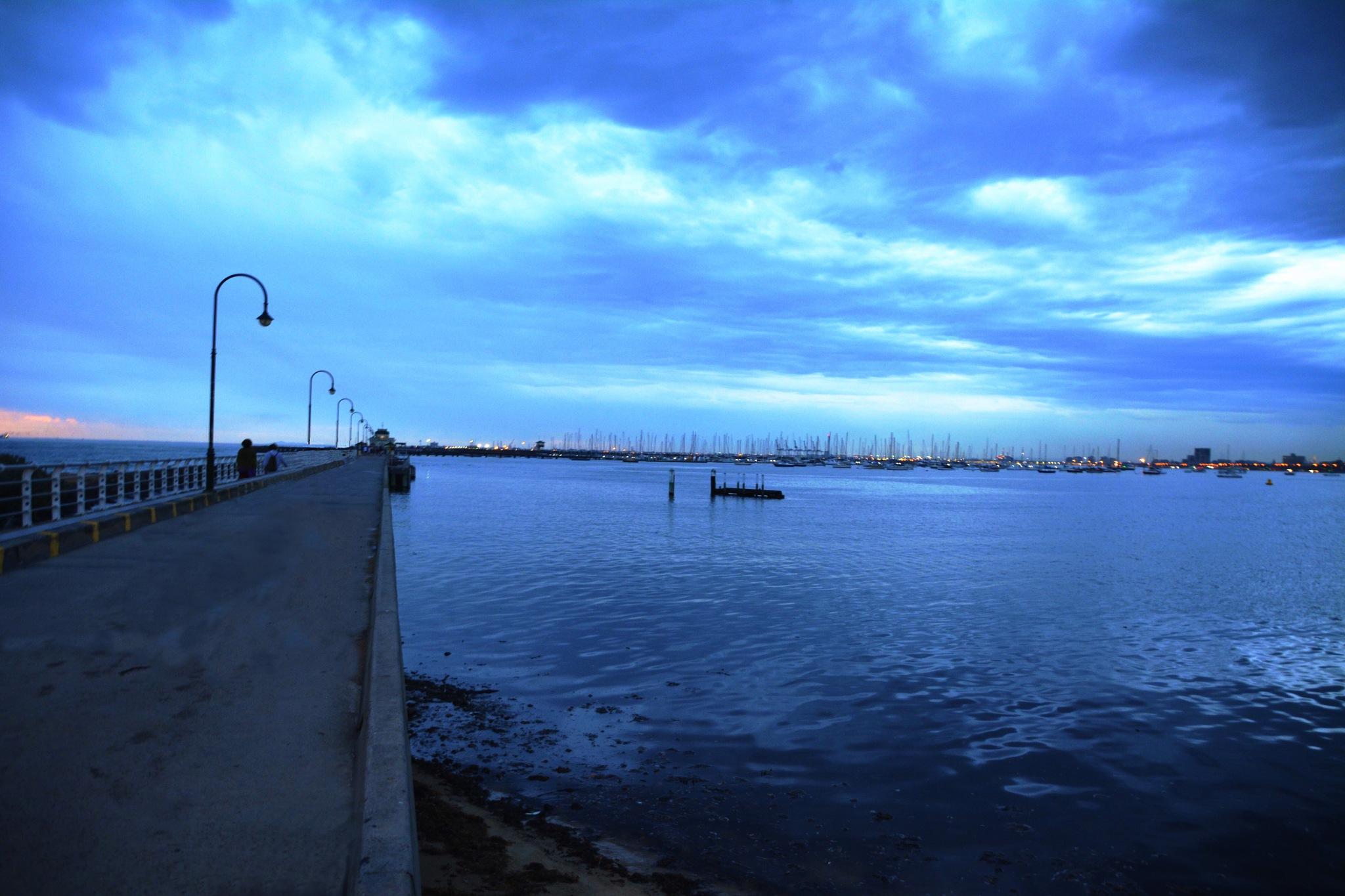 St Kilda Pier, Melbourne  by colin.petrie.5