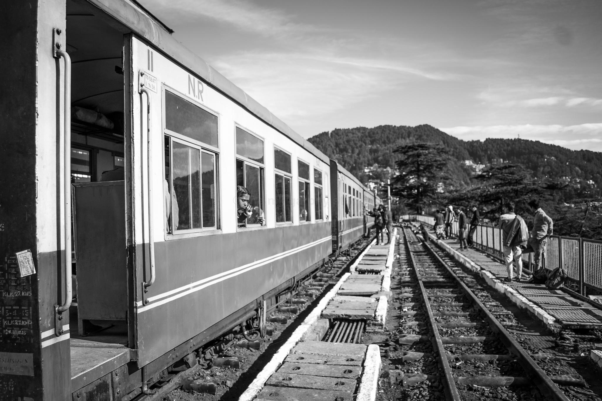 The Heart of Shimla #toytrain by Traveler...