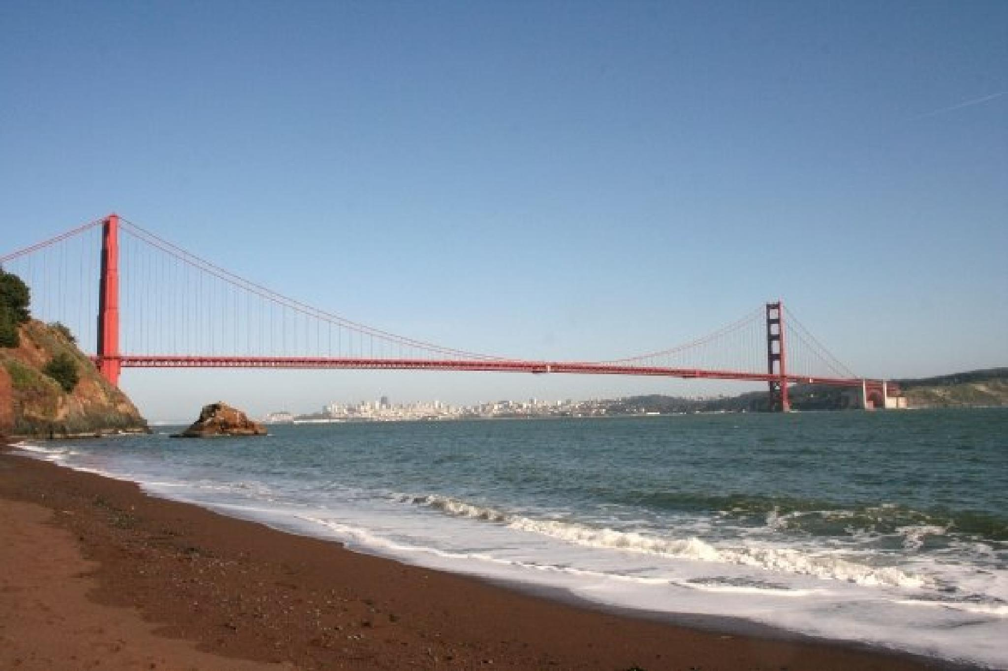 Golden Gate Bridge by Julia Mae