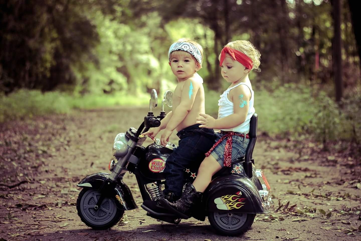 Little Bikers by Kathy