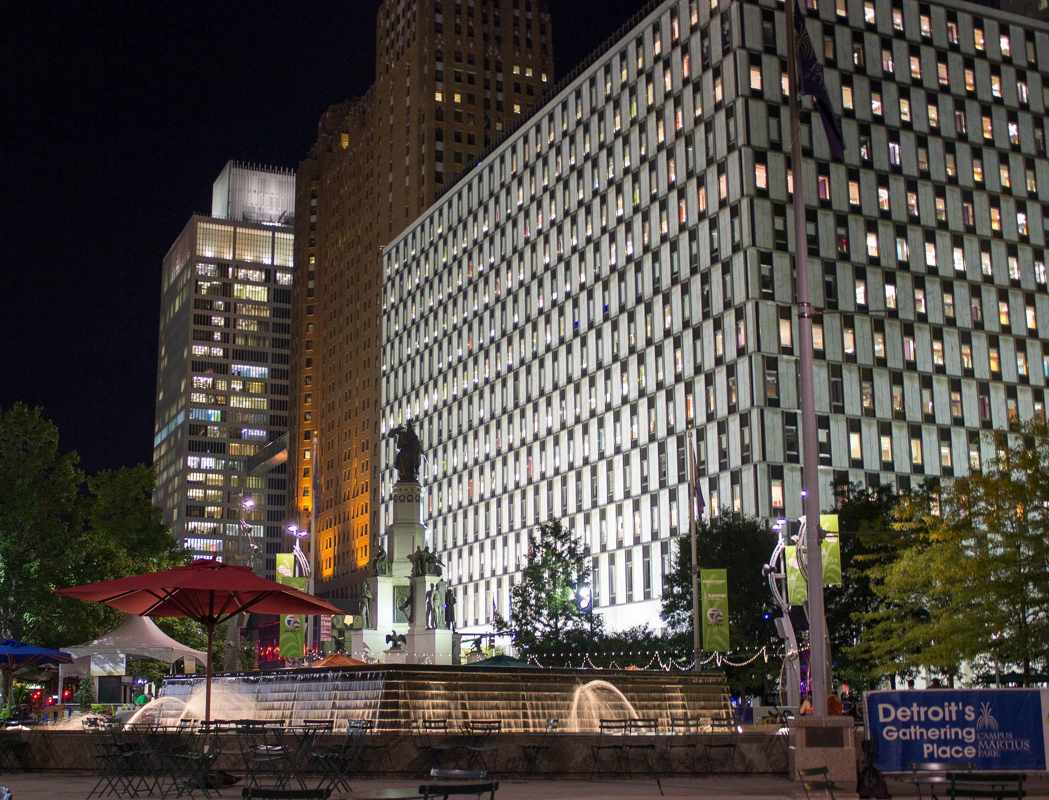 Downtown Detroit by eli douglas