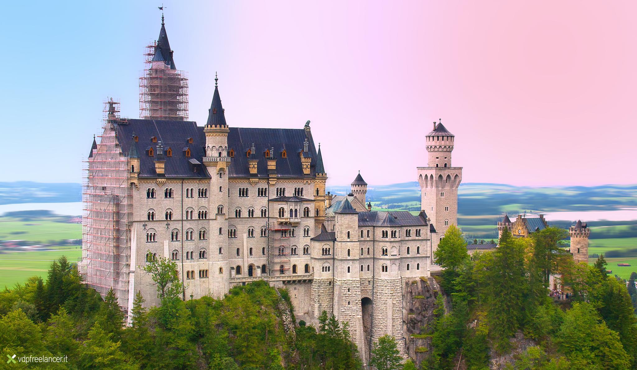 Neuschwanstein Castle by Vittorio Delli Ponti