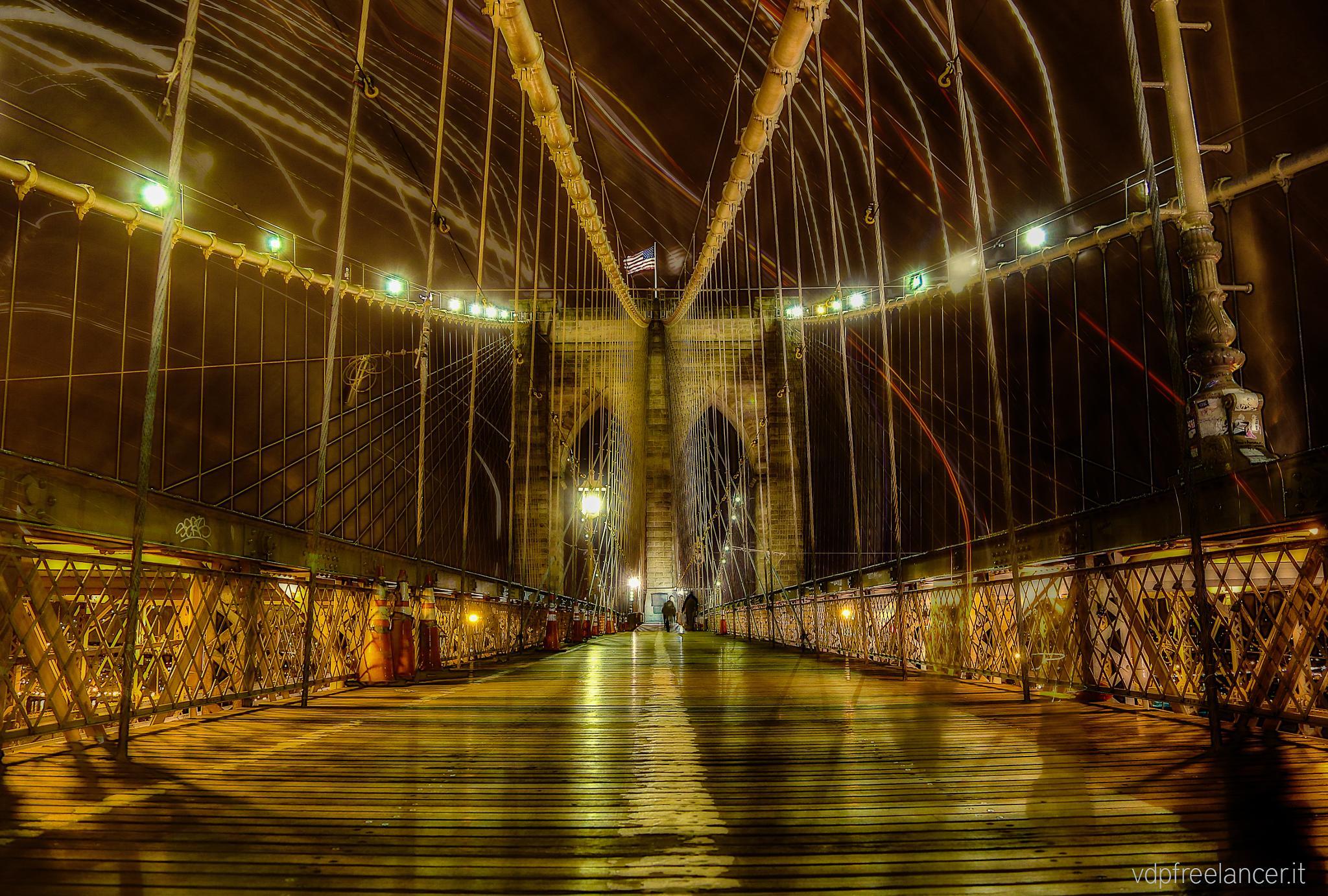 Brooklyn Bridge by Vittorio Delli Ponti