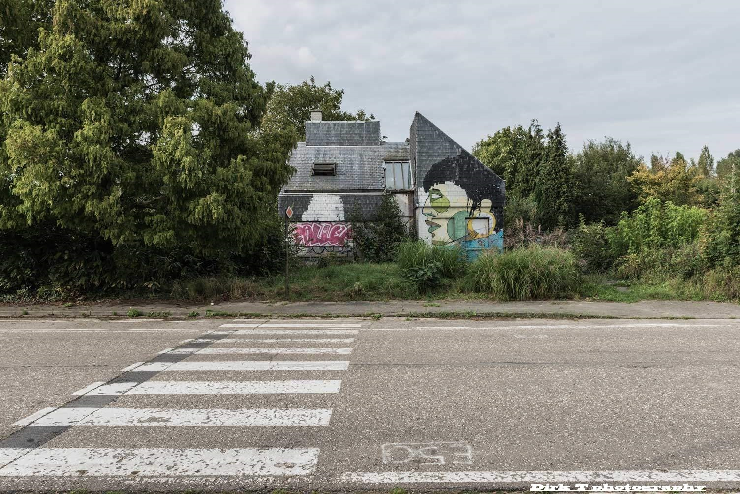 Ghost town Doel-Antwerp  by dirktheuns