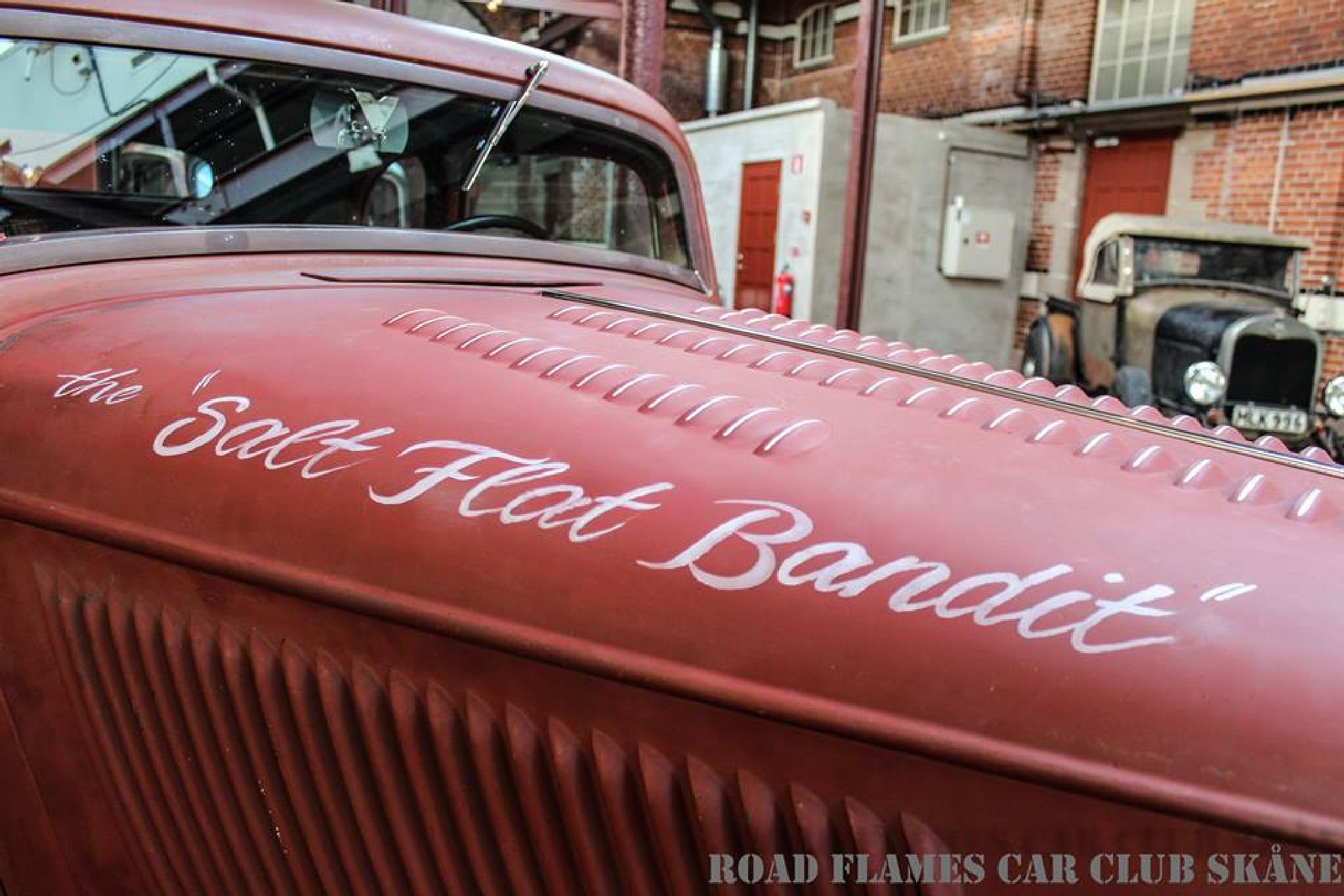 "The ""Salt Flat Bandit"" by Road Flames Photography"