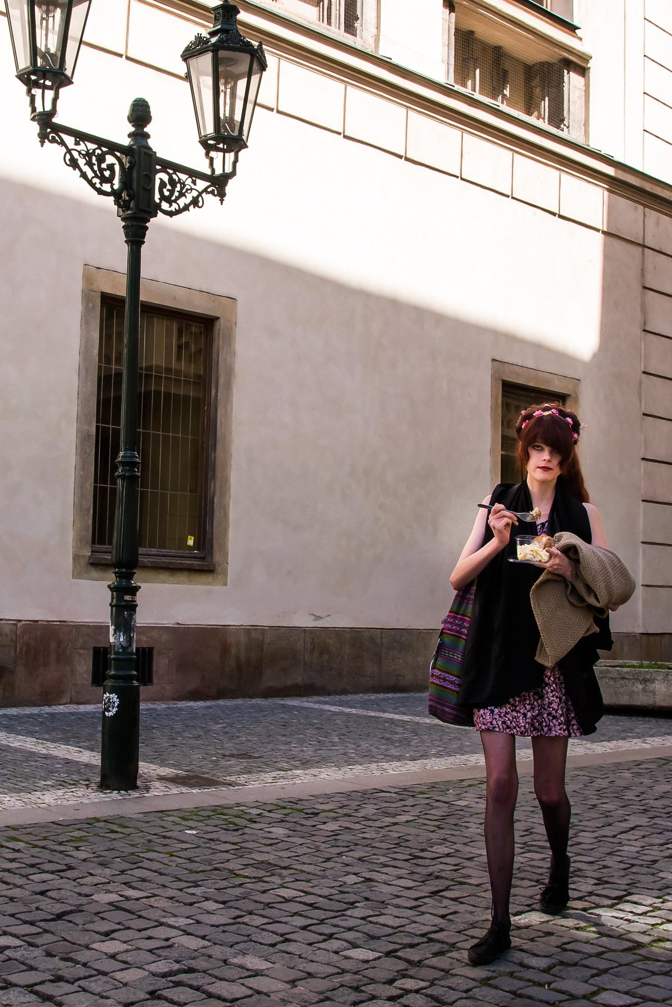 Street lunch by giorgiomorrone