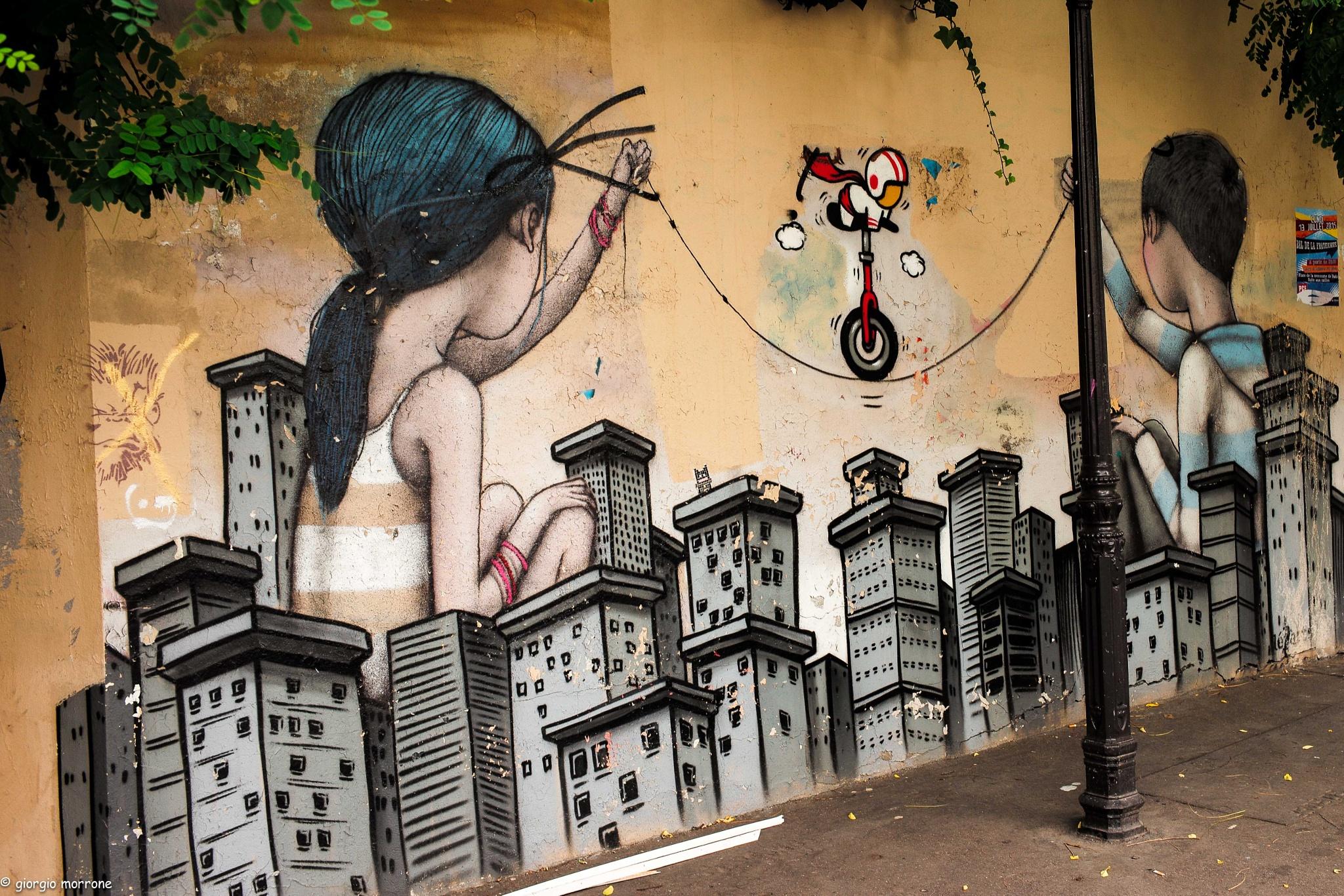 street art #3 by giorgiomorrone