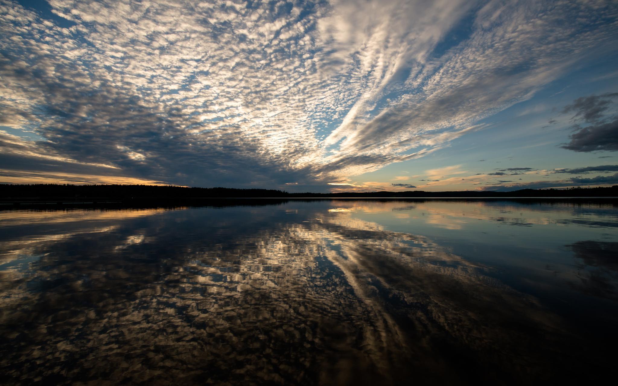 sunset by Skidbladner Salomonsson