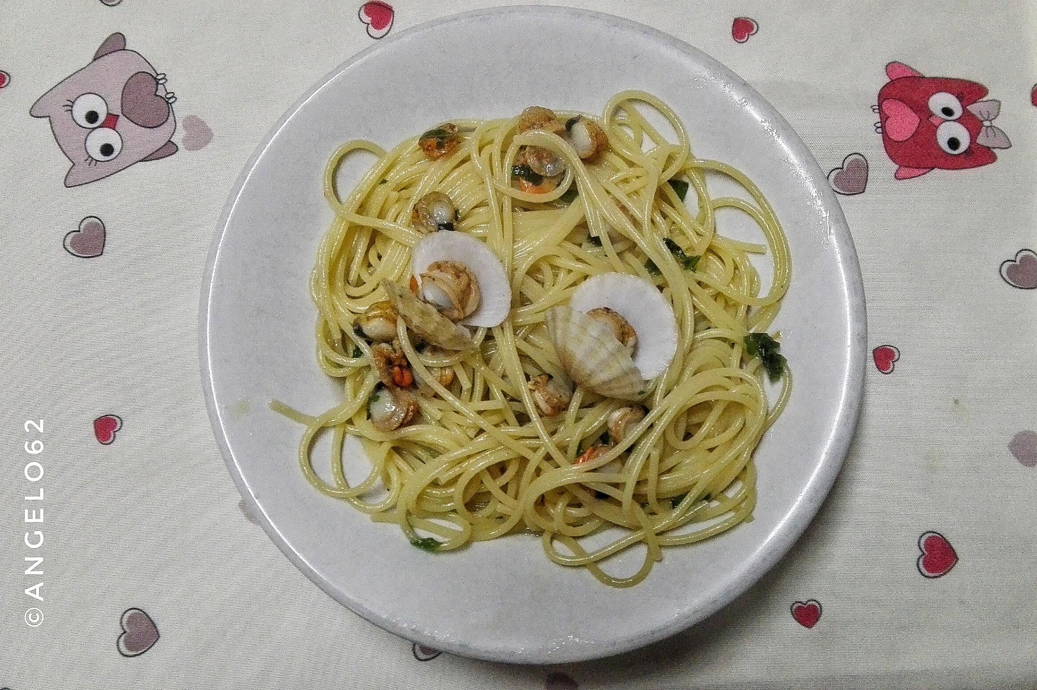 Spaghetti con cozze San Giacomo by Angelo62
