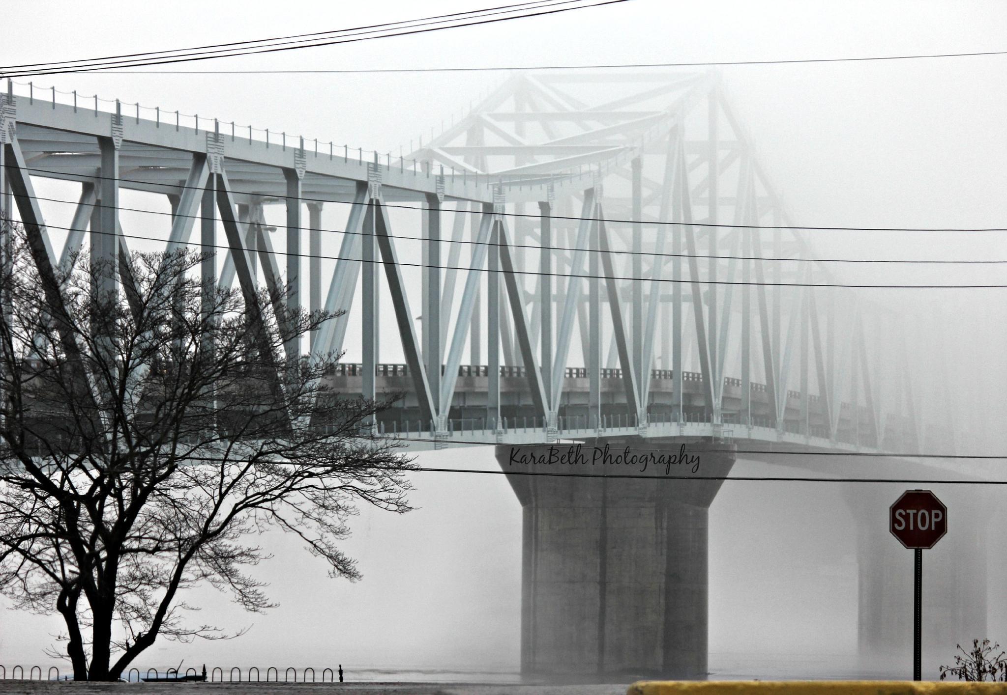 Foggy Friday Evening by KaraBeth.Photography