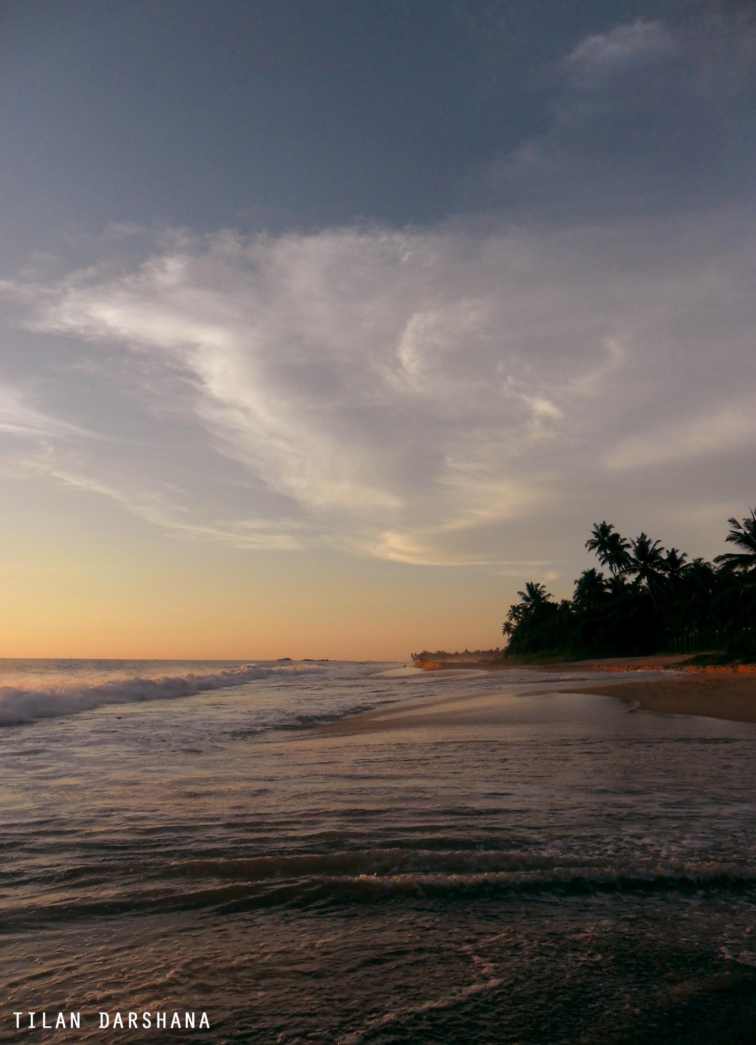 beach in sri lanka  by tilan.darshana