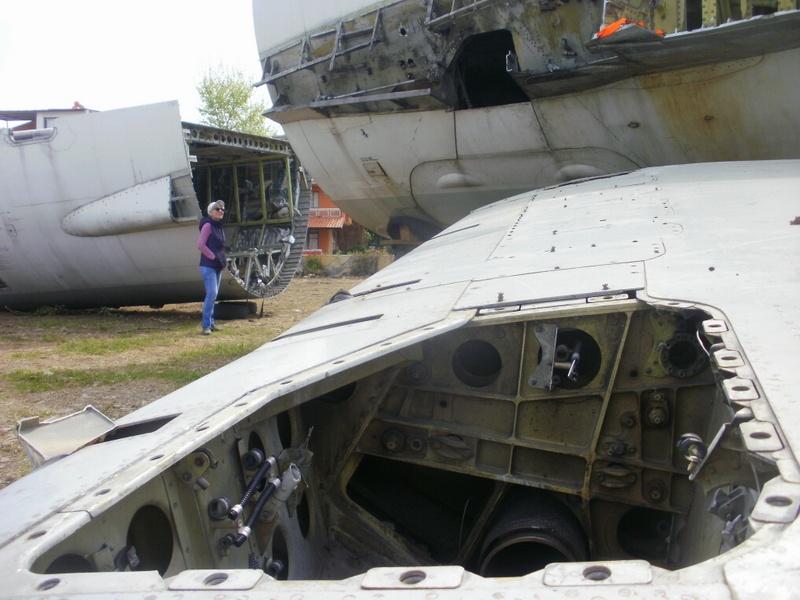 plane wreckage by Ruhsar Ünsal
