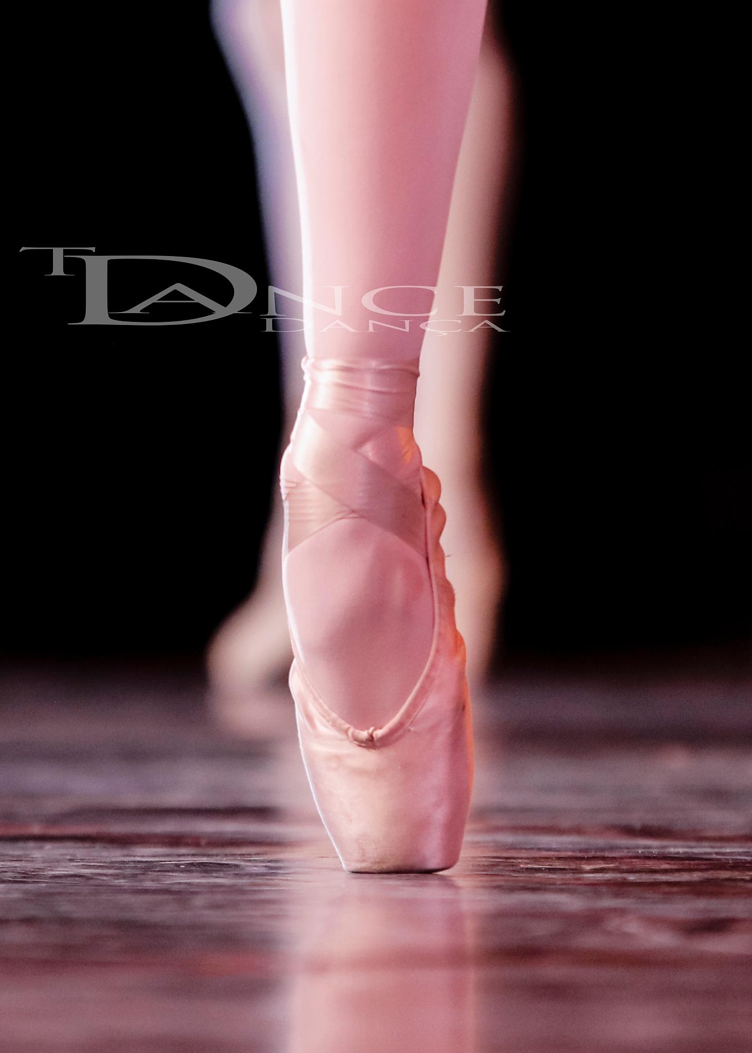 A dança é poesia corporal detalhada na ponta dos pés by alex.laire
