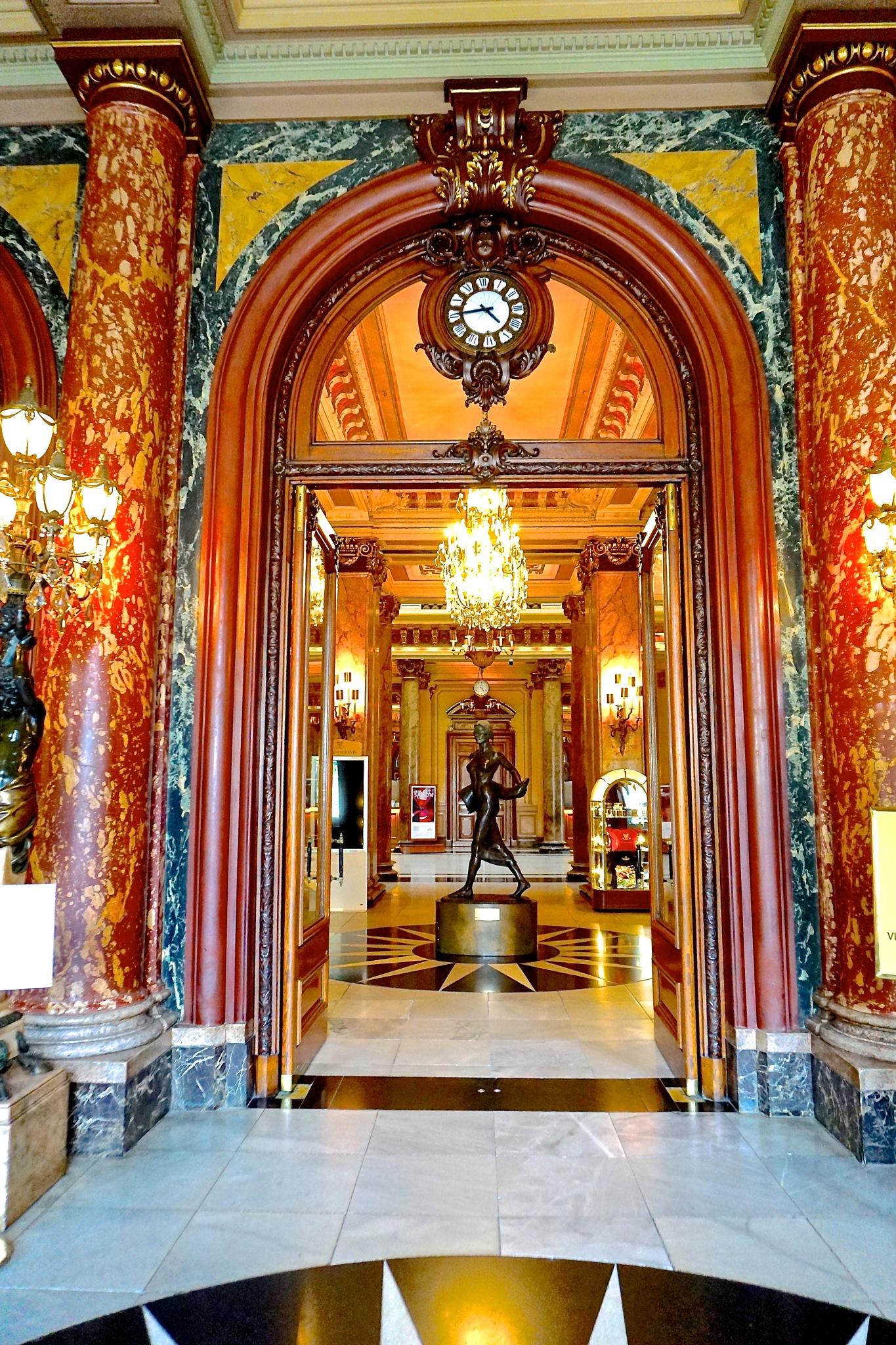 Le Casino-Monte Carlo by Steven Thomas Densley