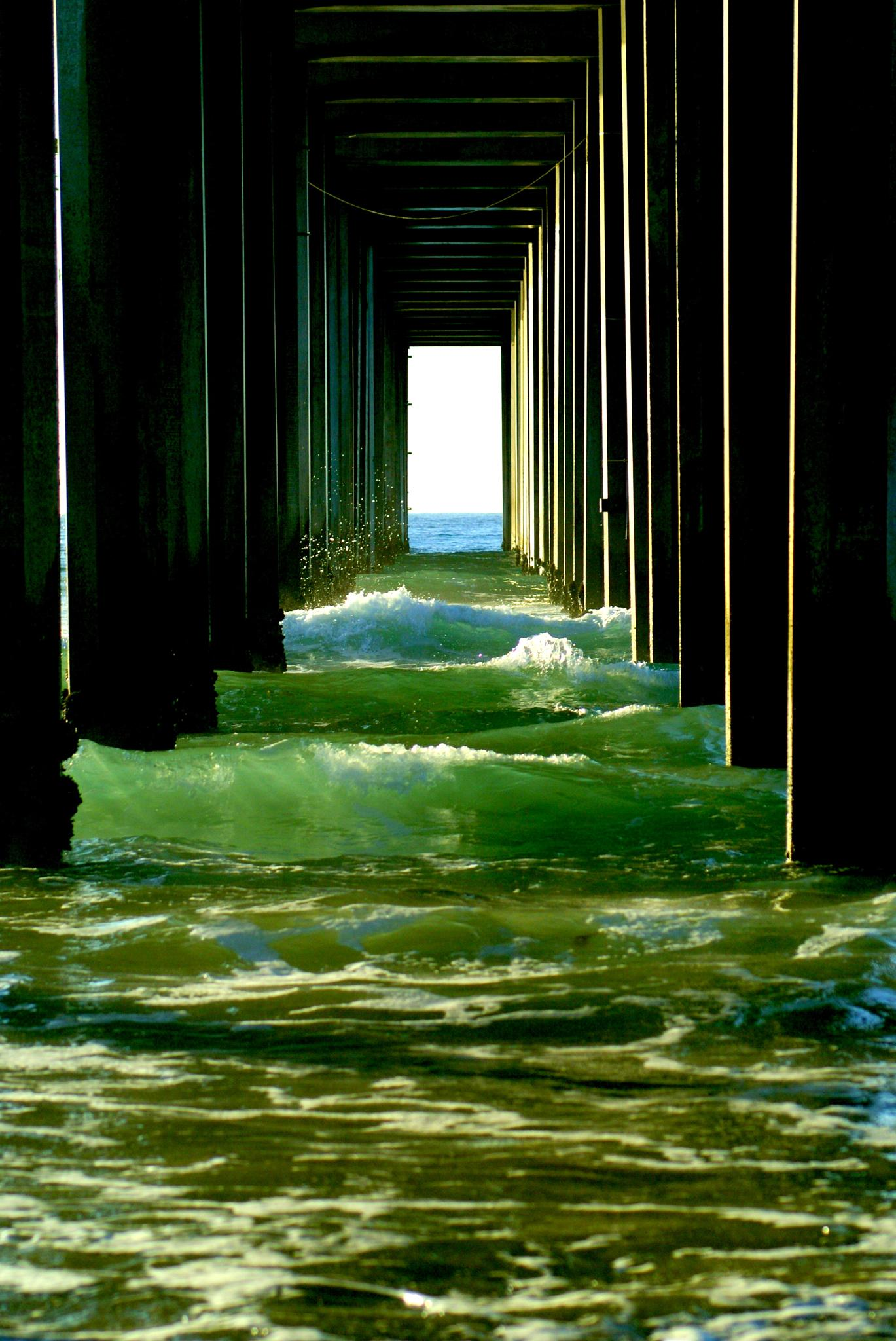 Under the pier by shawna.morgan.7