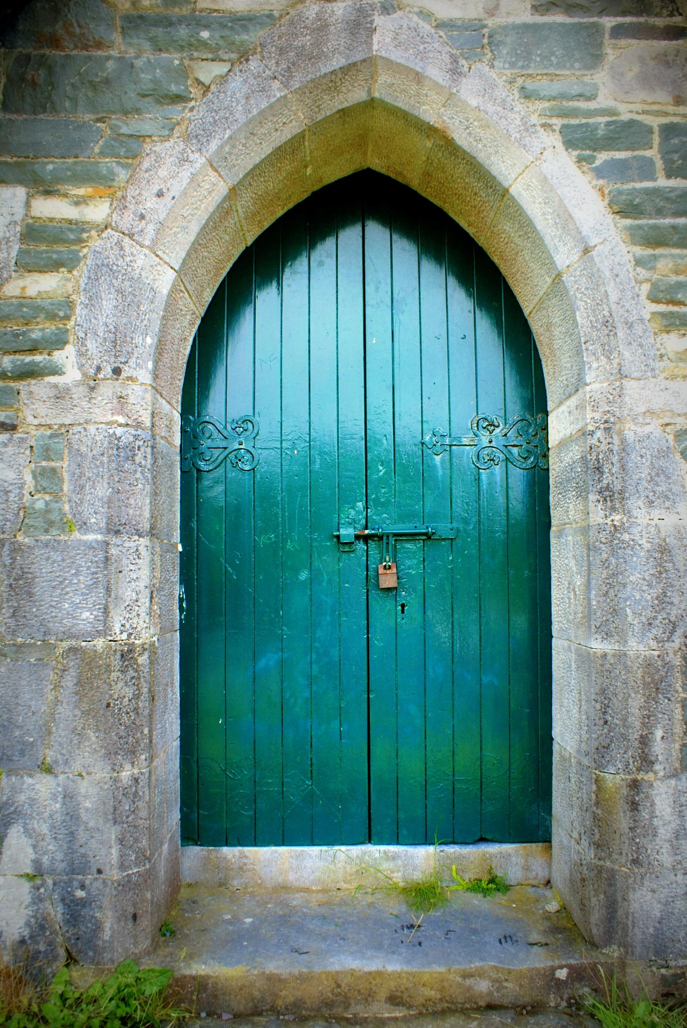 Ireland Church Door by shawna.morgan.7